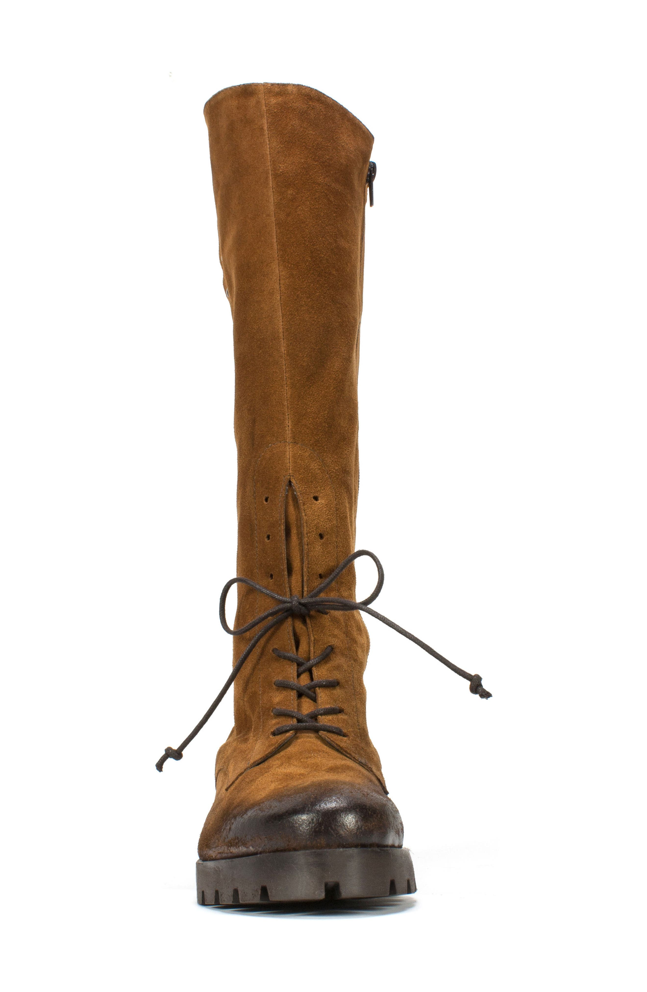 Dobbs Boot,                             Alternate thumbnail 4, color,                             Camel Suede