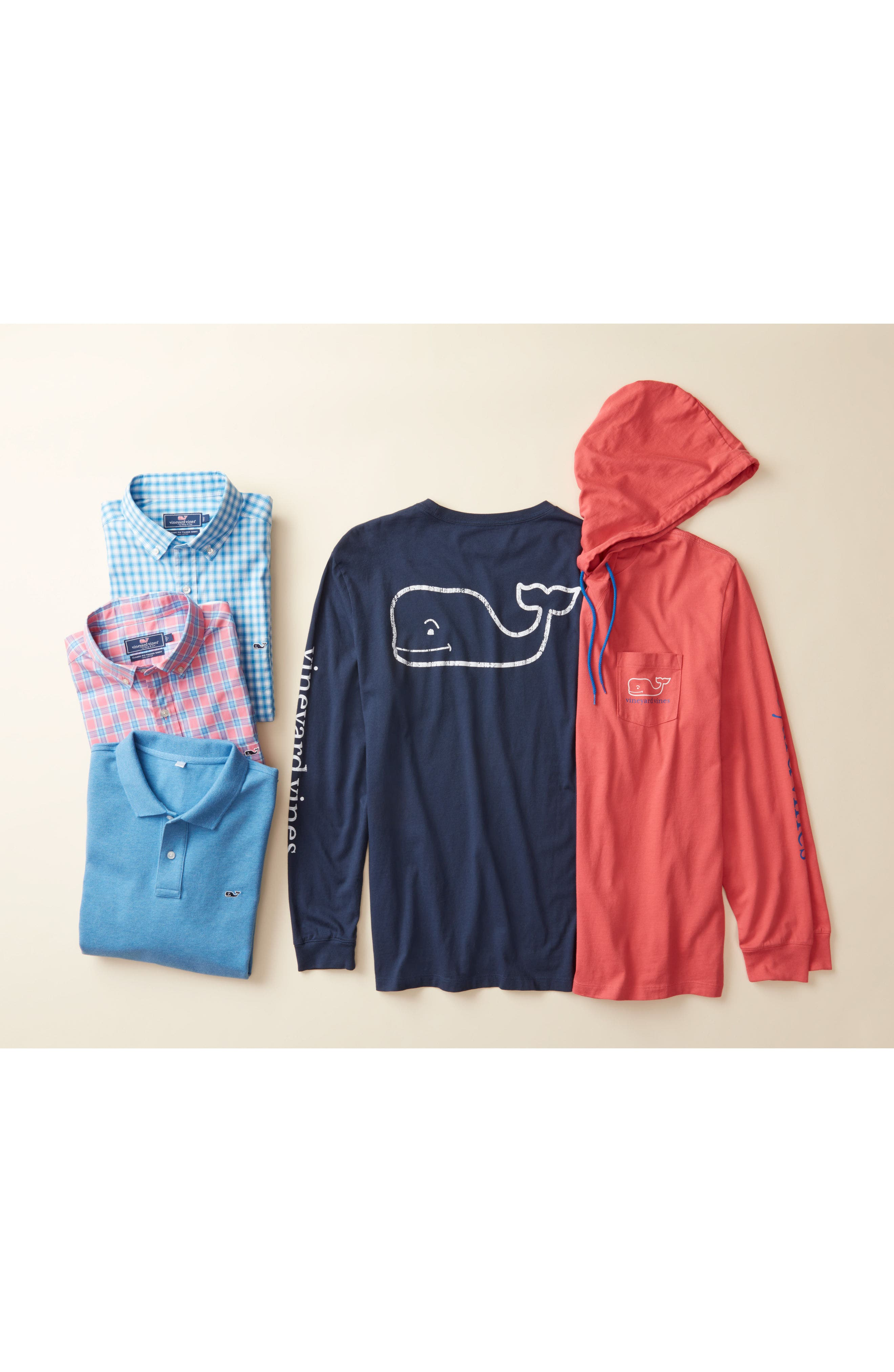 Whale Graphic Hooded T-Shirt,                             Alternate thumbnail 4, color,