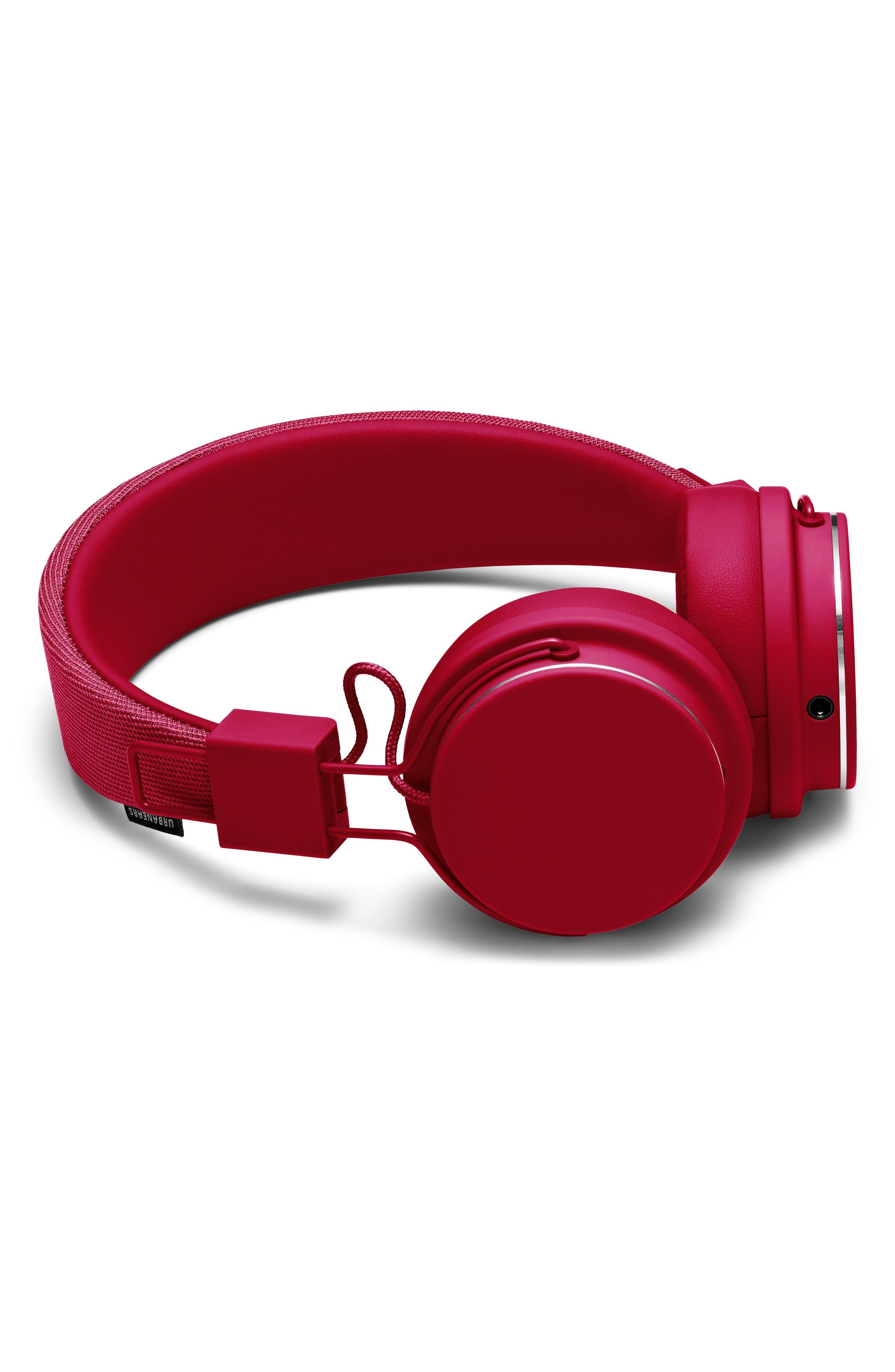 Plattan II On-Ear Headphones,                             Alternate thumbnail 2, color,                             Beryl Red