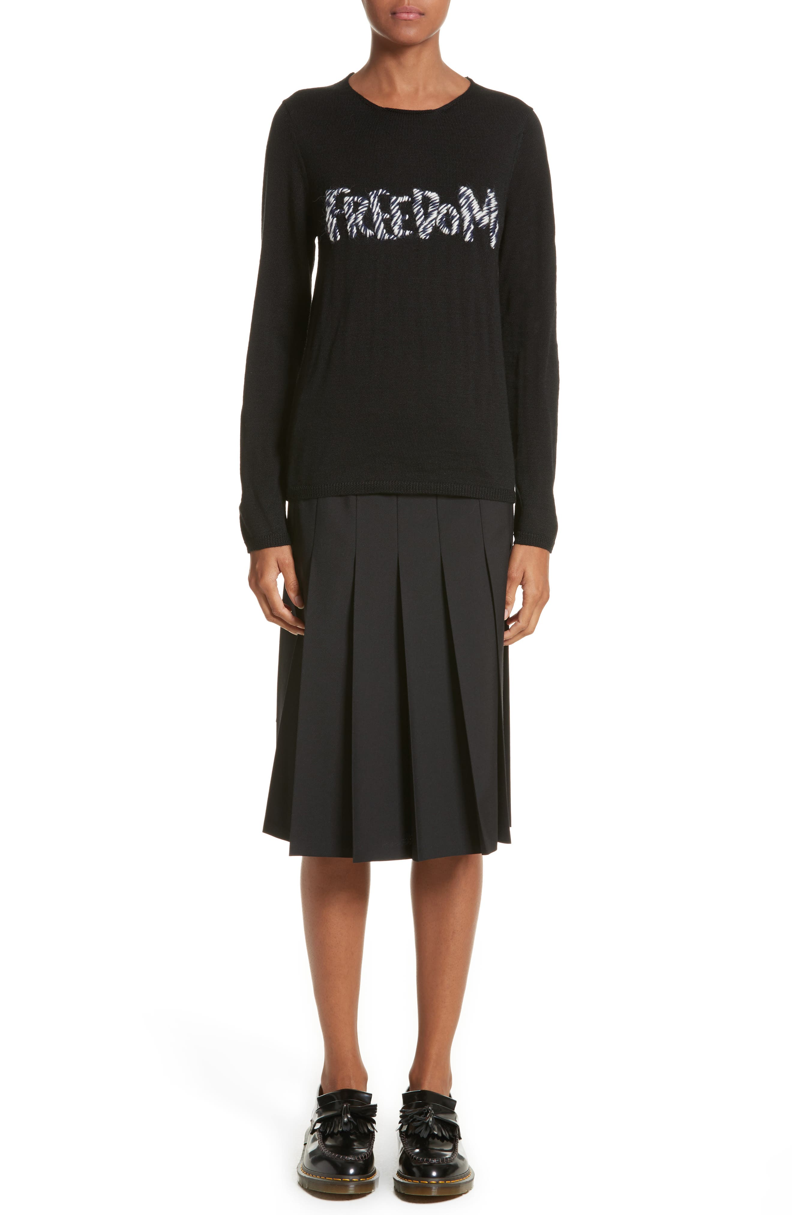 Alternate Image 1 Selected - Comme des Garçons Freedom Sweater