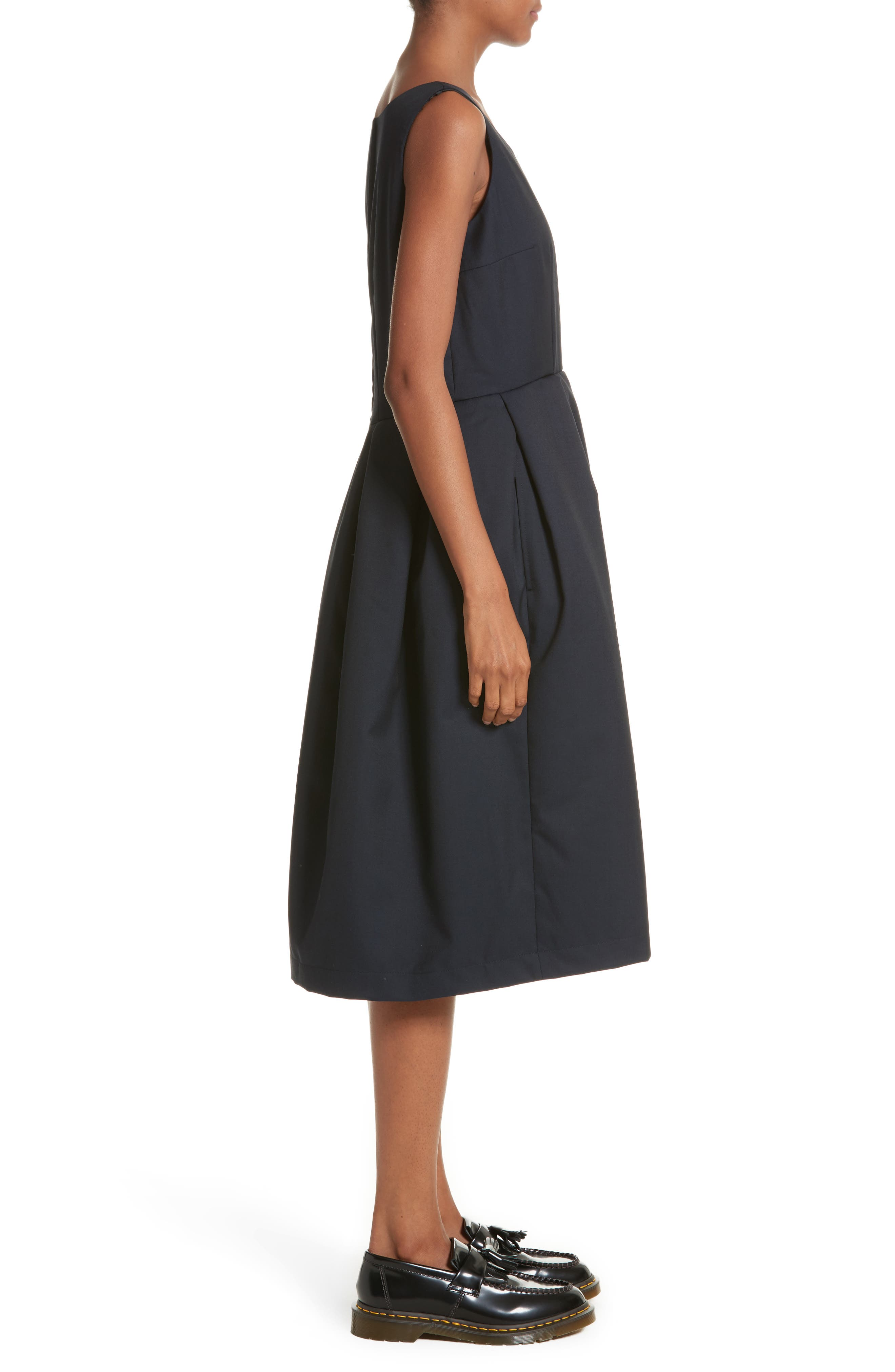 Alternate Image 4  - Comme de Garçons Sleeveless Fit & Flare Dress