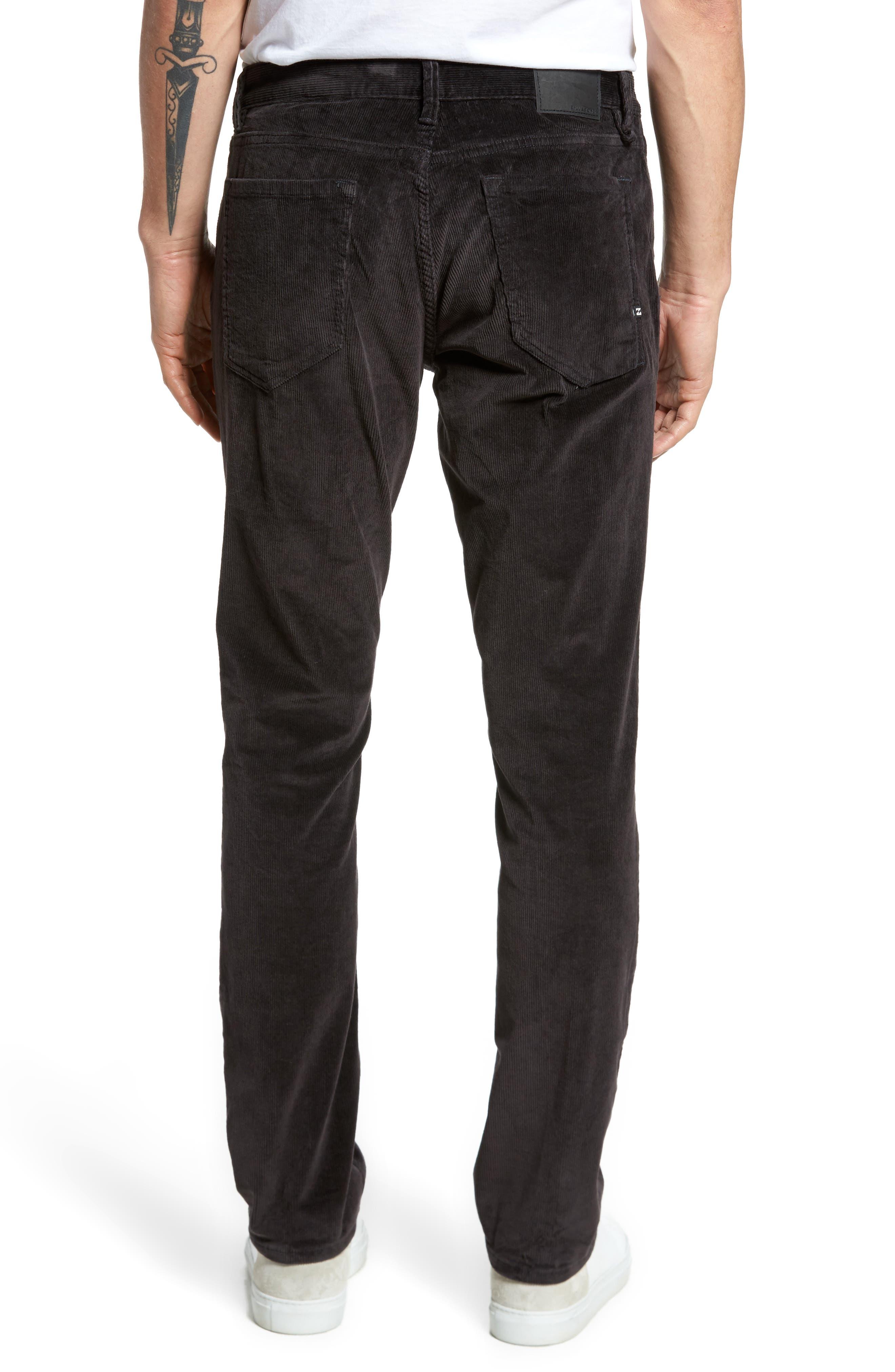 Outsider Corduroy Pants,                             Alternate thumbnail 2, color,                             Charcoal