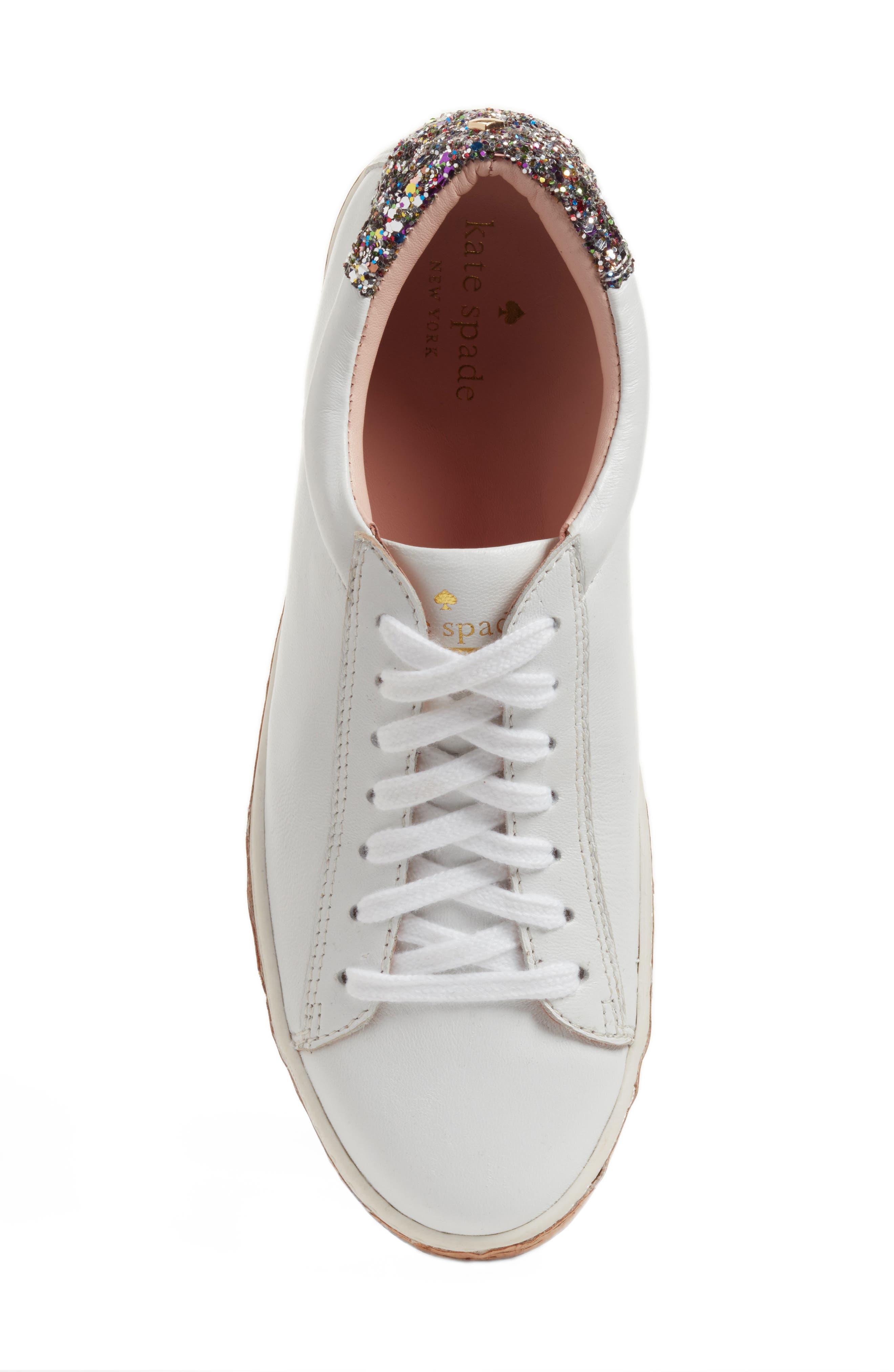 amy sneaker,                             Alternate thumbnail 6, color,                             White