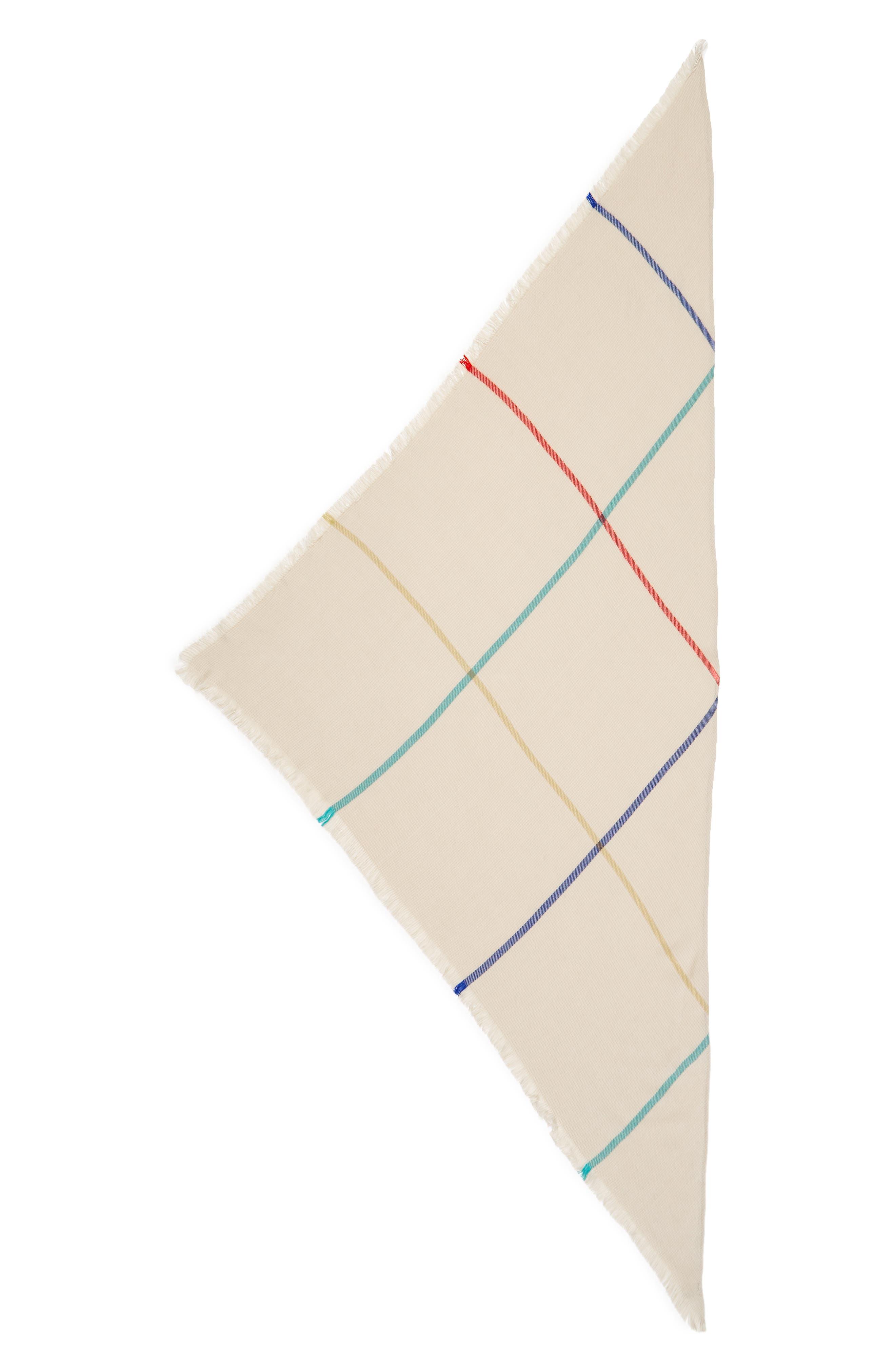 Alternate Image 2  - BP. Pop Stripe Triangle Scarf