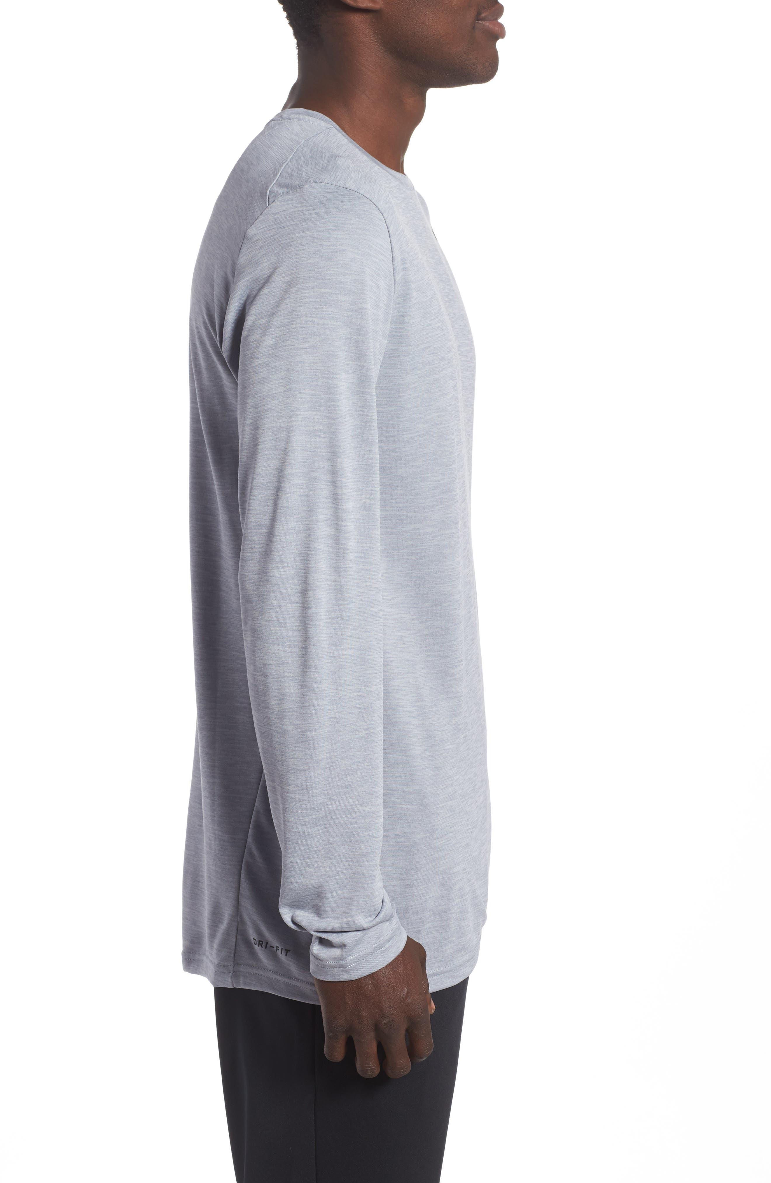 Alternate Image 3  - Nike Long Sleeve Training T-Shirt