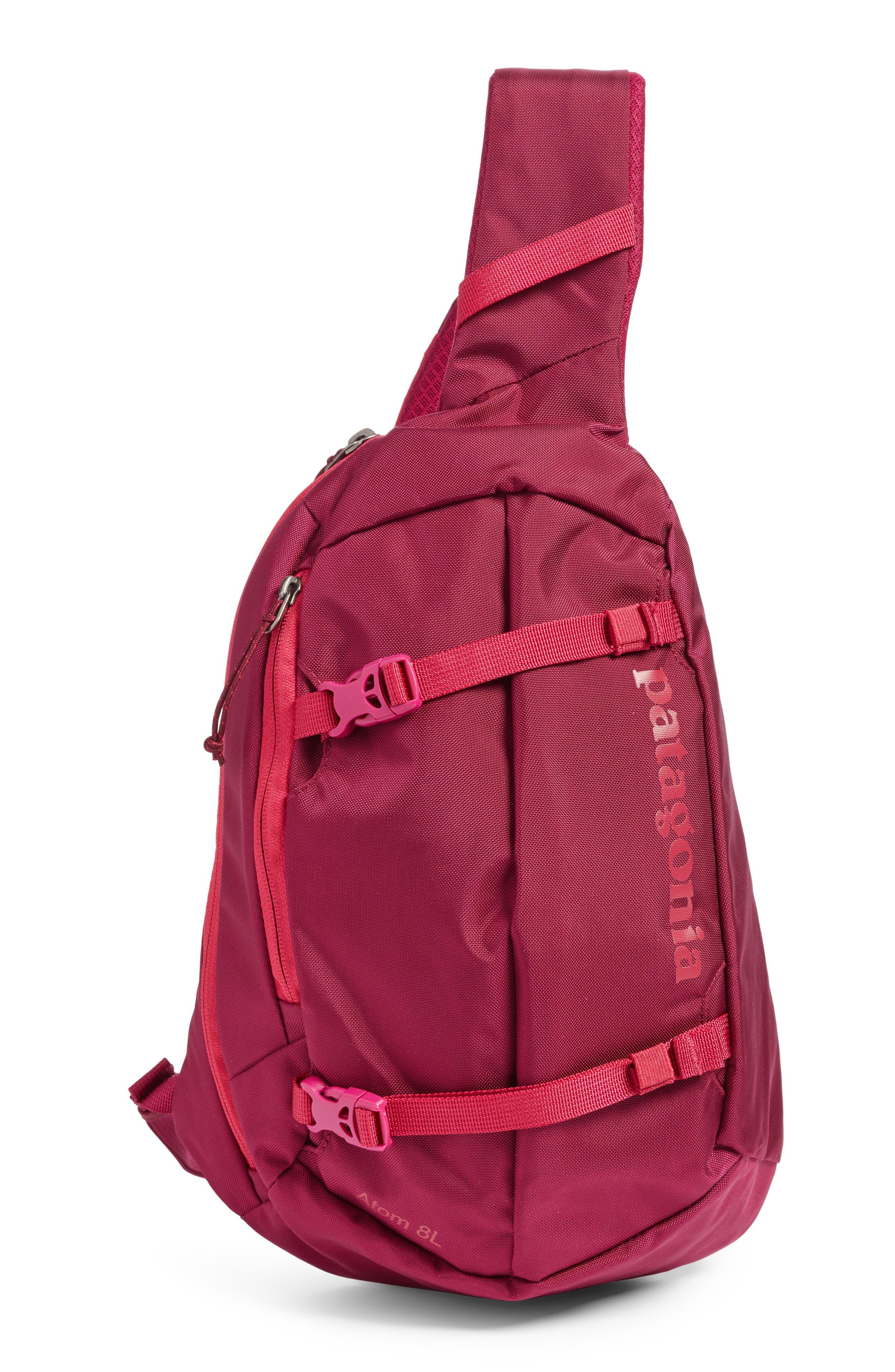 Atom 8L Sling Backpack,                         Main,                         color, Magenta