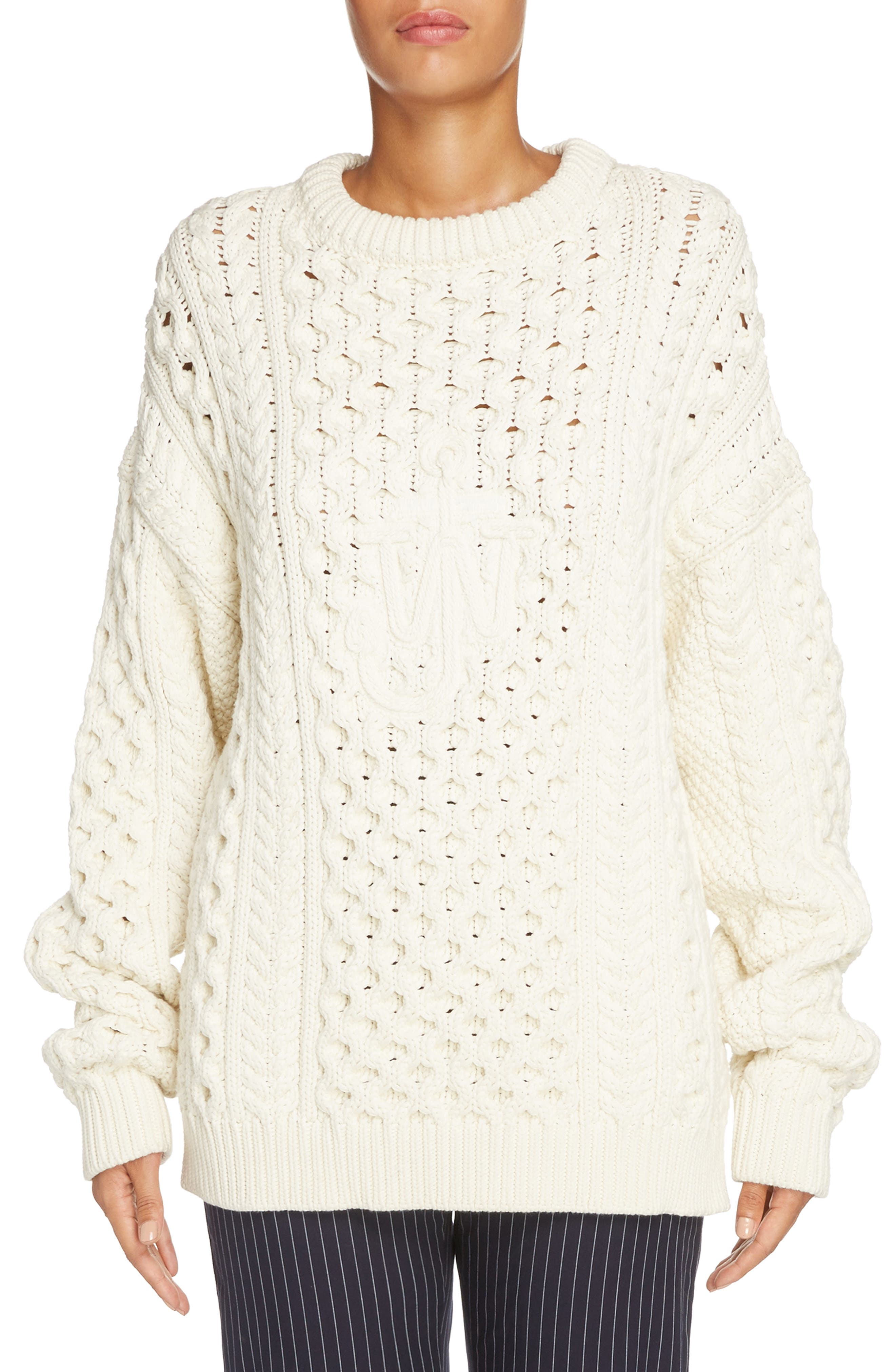 J.W.ANDERSON Cable Knit Sweater