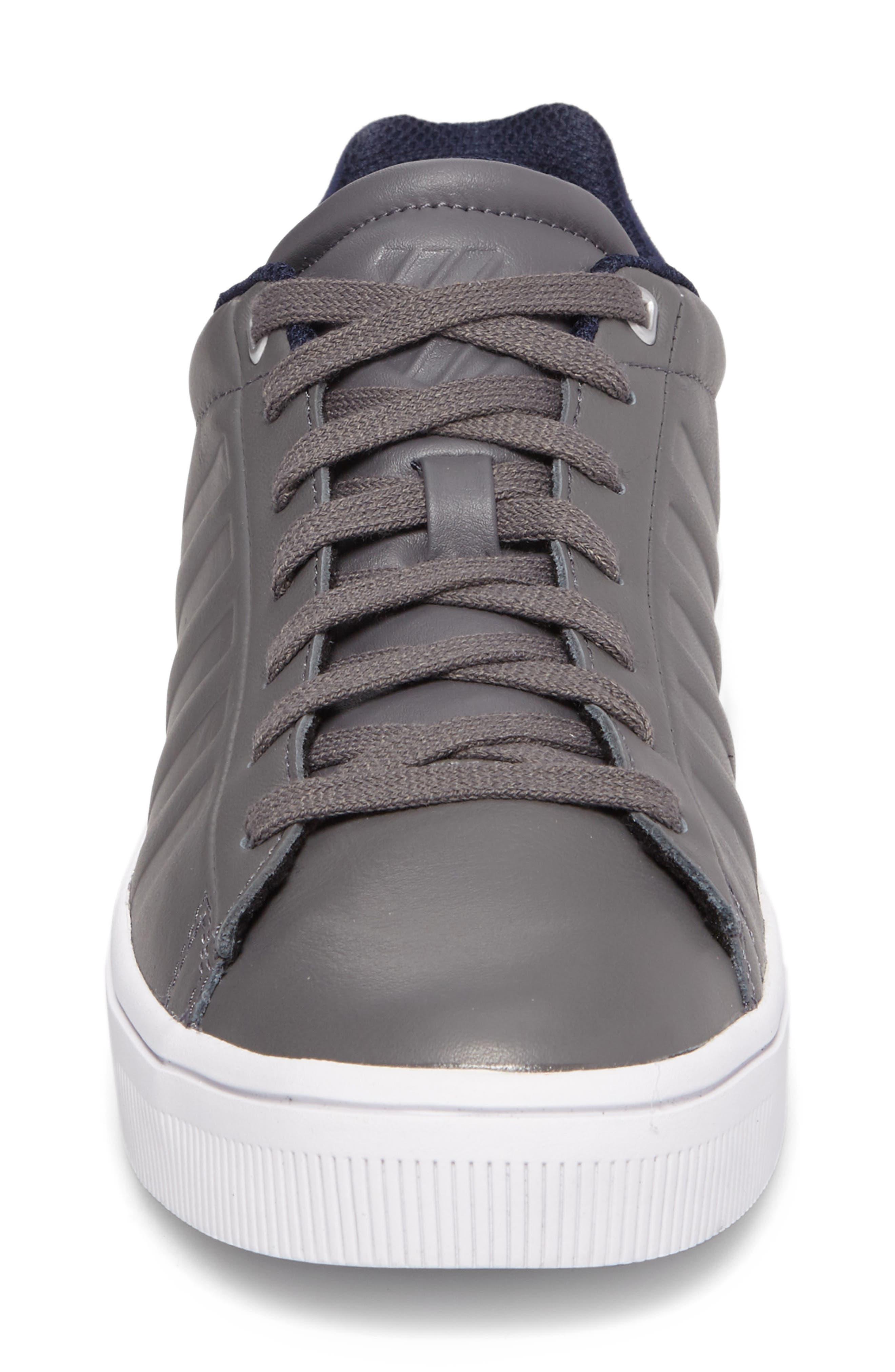 Court Frasco Sneaker,                             Alternate thumbnail 4, color,                             Pewter/ Patriot Blue