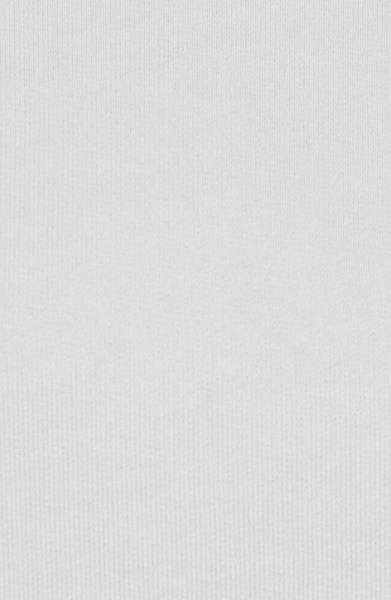 Asymmetric Sweatshirt,                             Alternate thumbnail 5, color,                             Grey Area