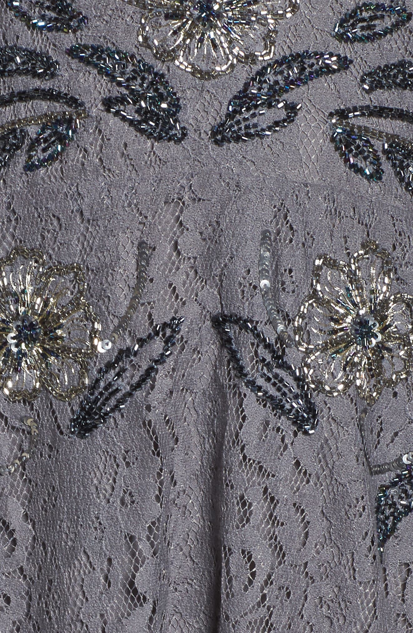 Alternate Image 5  - French Connection Esme Shimmer Beaded Lace Dress