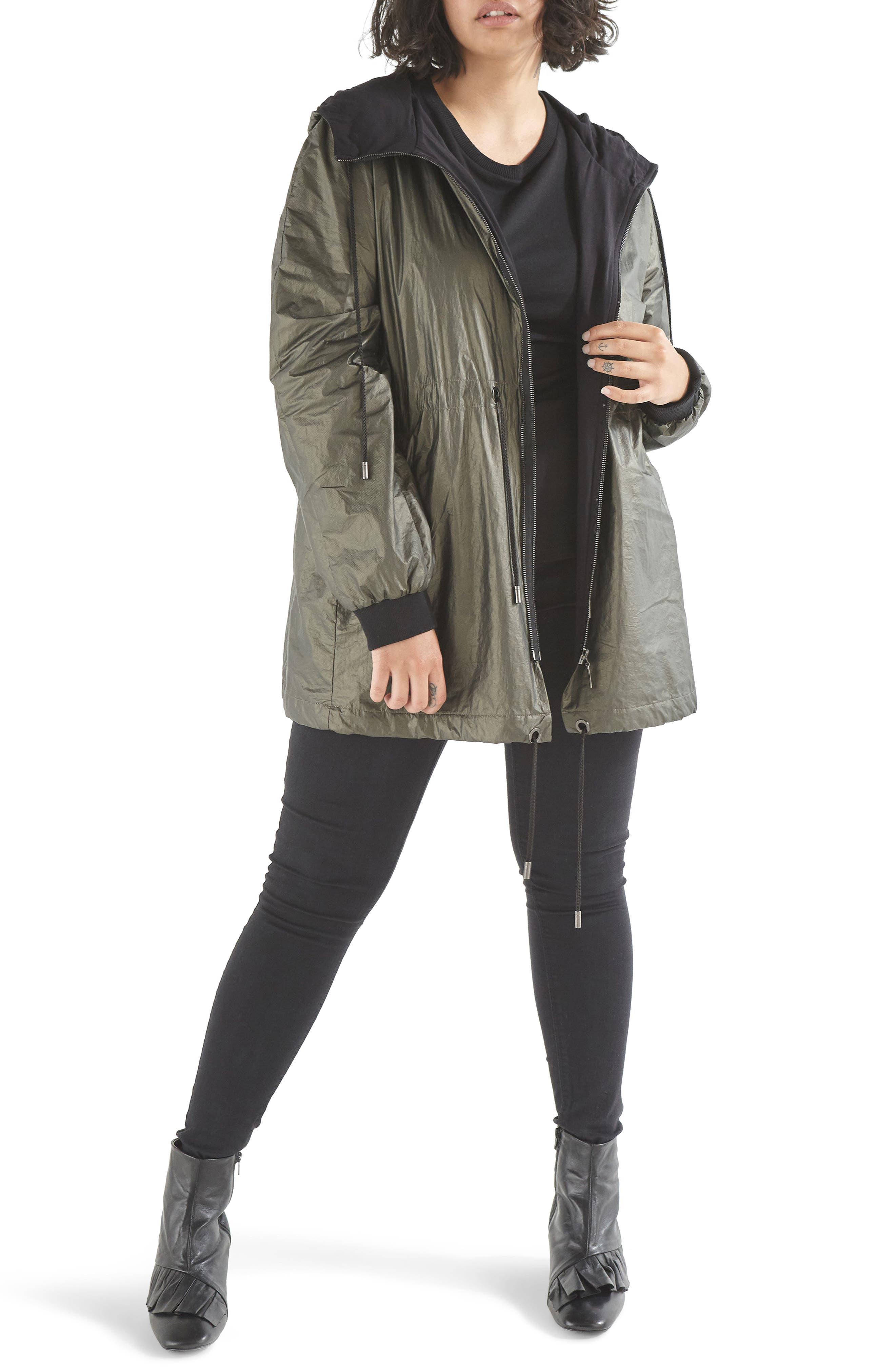Main Image - Elvi Parka Jacket (Plus Size)