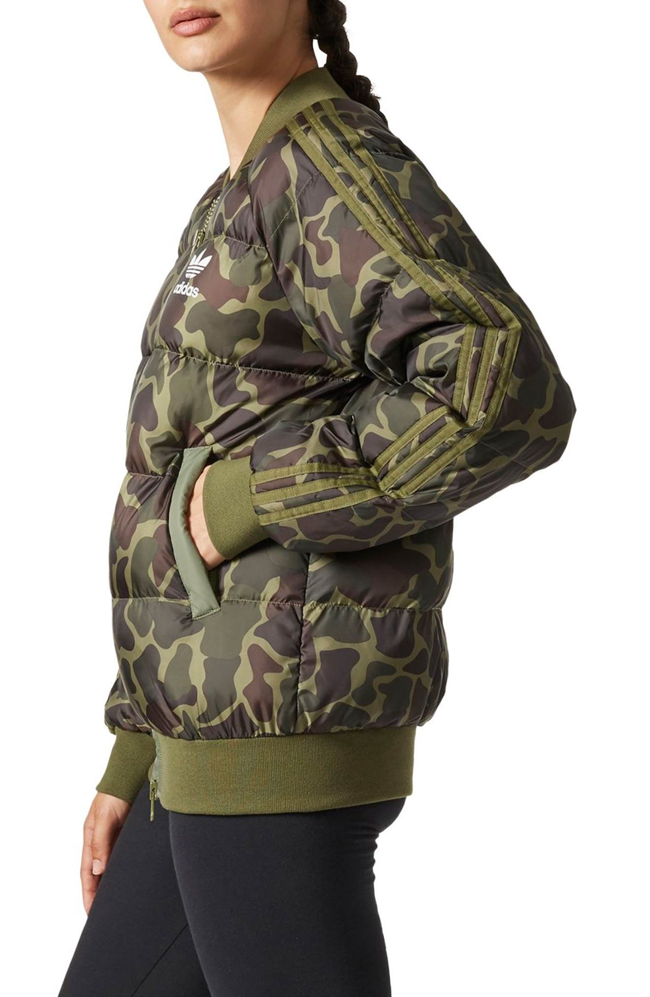 Alternate Image 3  - adidas Originals by Pharrell Williams Hu Hiking Camo Jacket