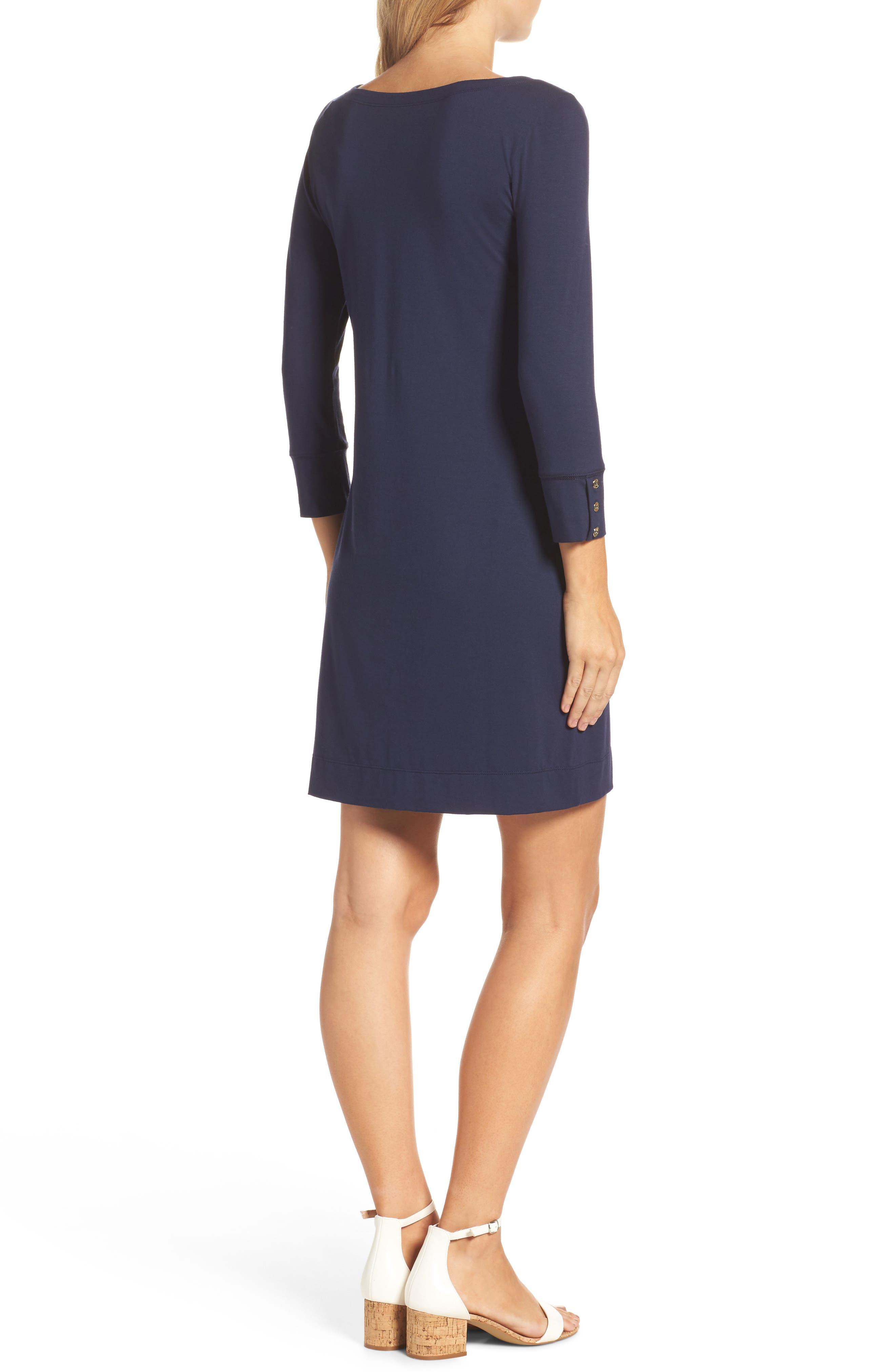 Sophie UPF 50+ Dress,                             Alternate thumbnail 2, color,                             True Navy