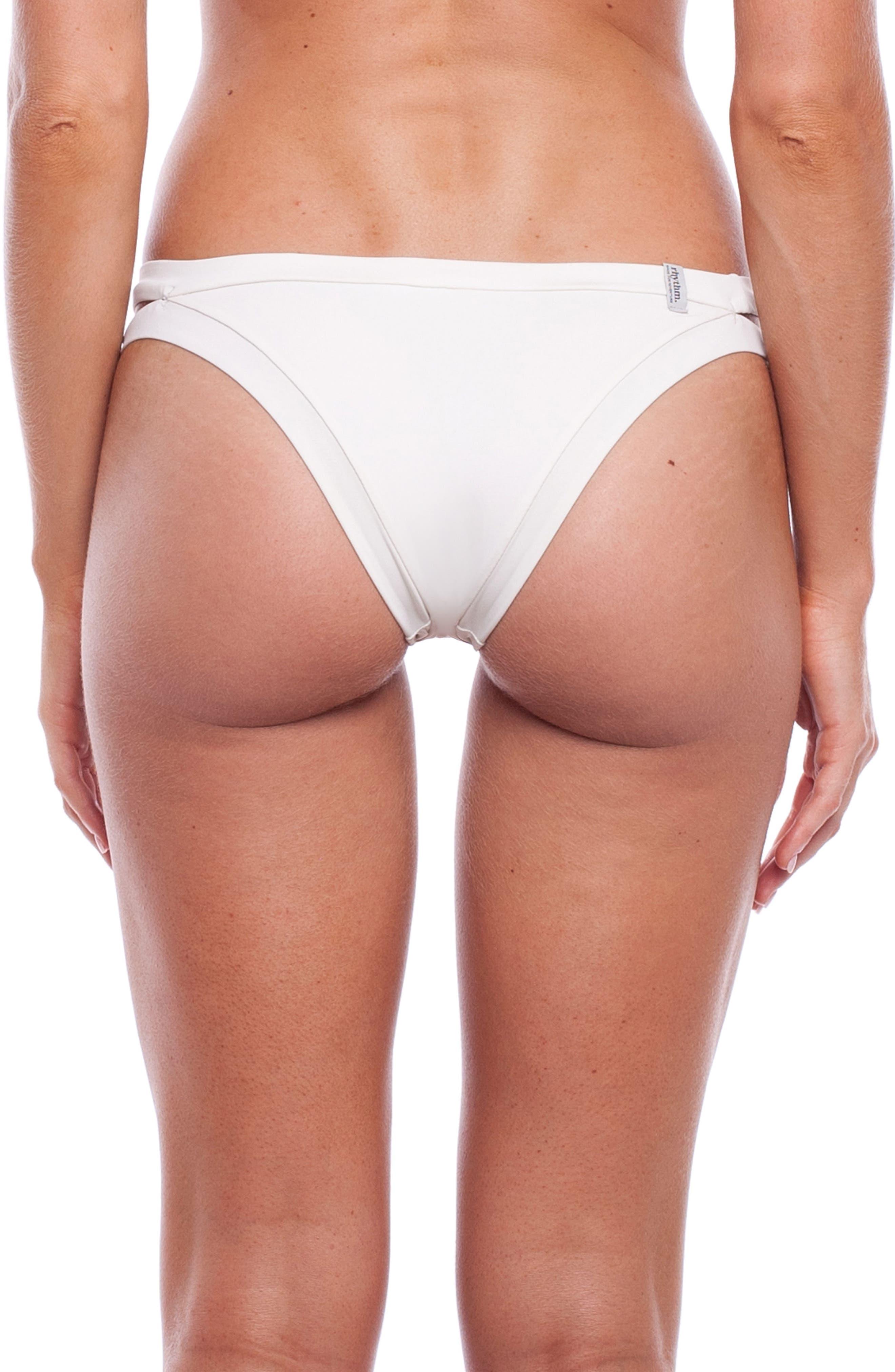 Sunchaser Bikini Bottoms,                             Alternate thumbnail 2, color,                             Seashell