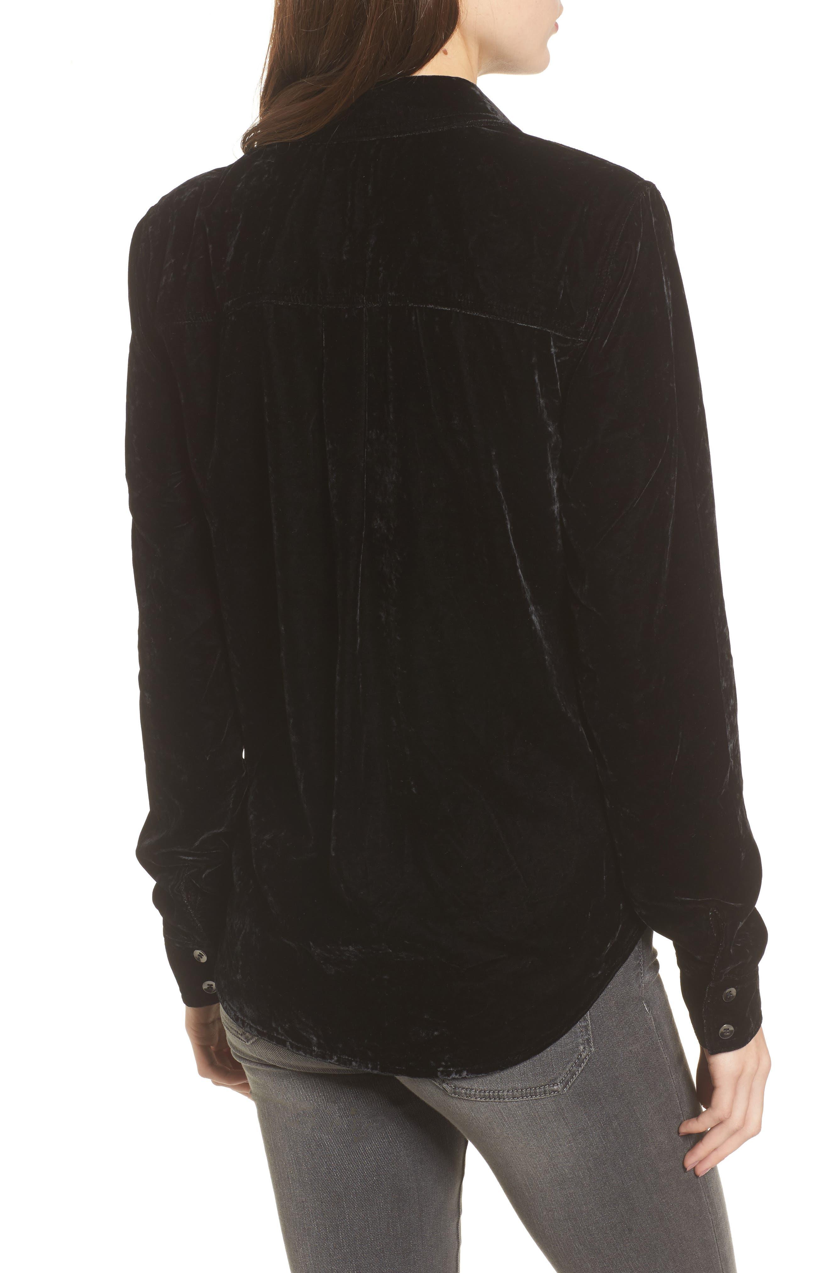 Alternate Image 2  - Splendid Velvet Shirt