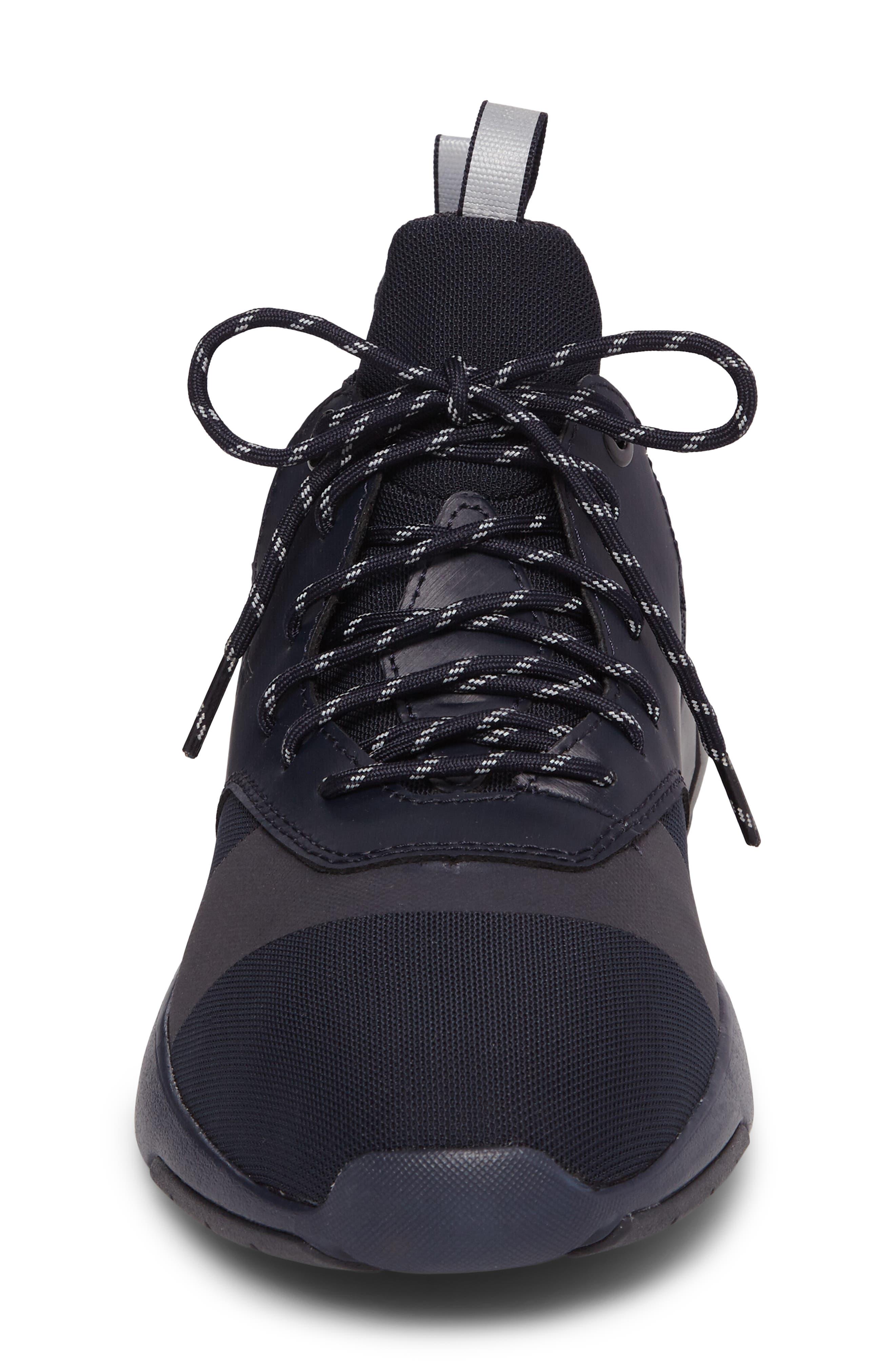Motus Sneaker,                             Alternate thumbnail 4, color,                             Navy Reflective Leather