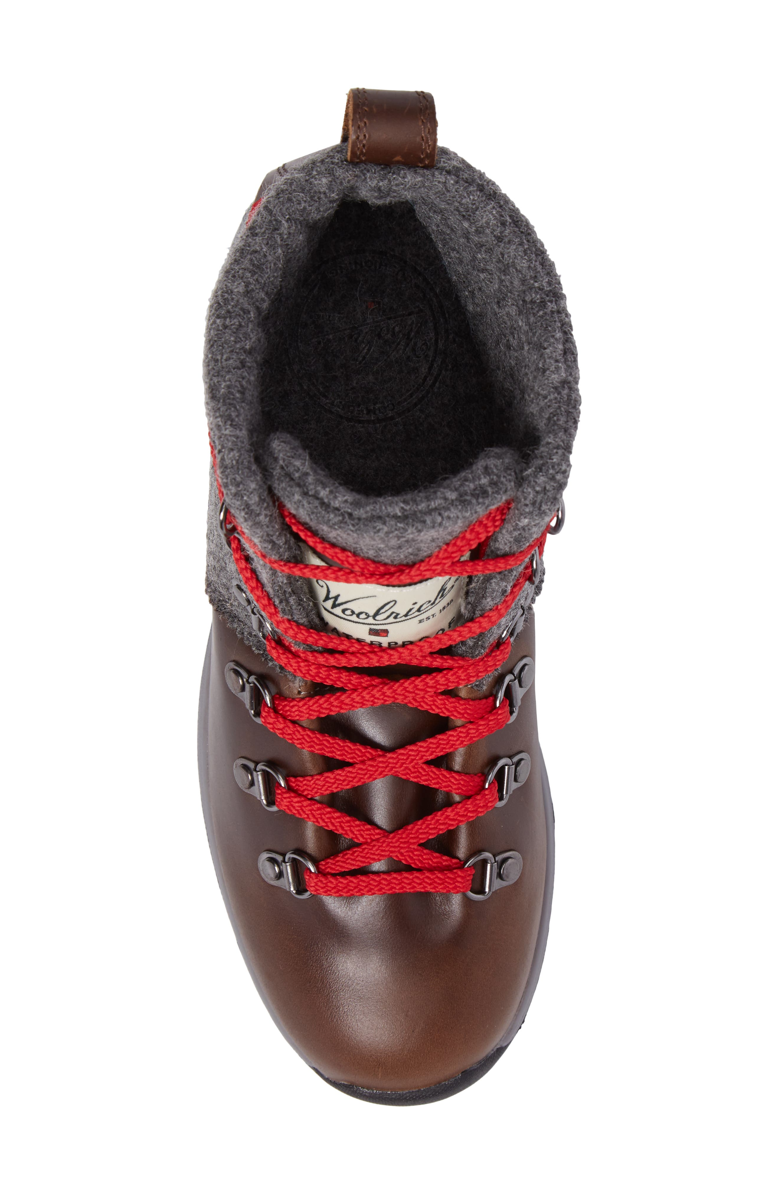 Alternate Image 5  - Woolrich Rockies II Waterproof Hiking Boot (Women)
