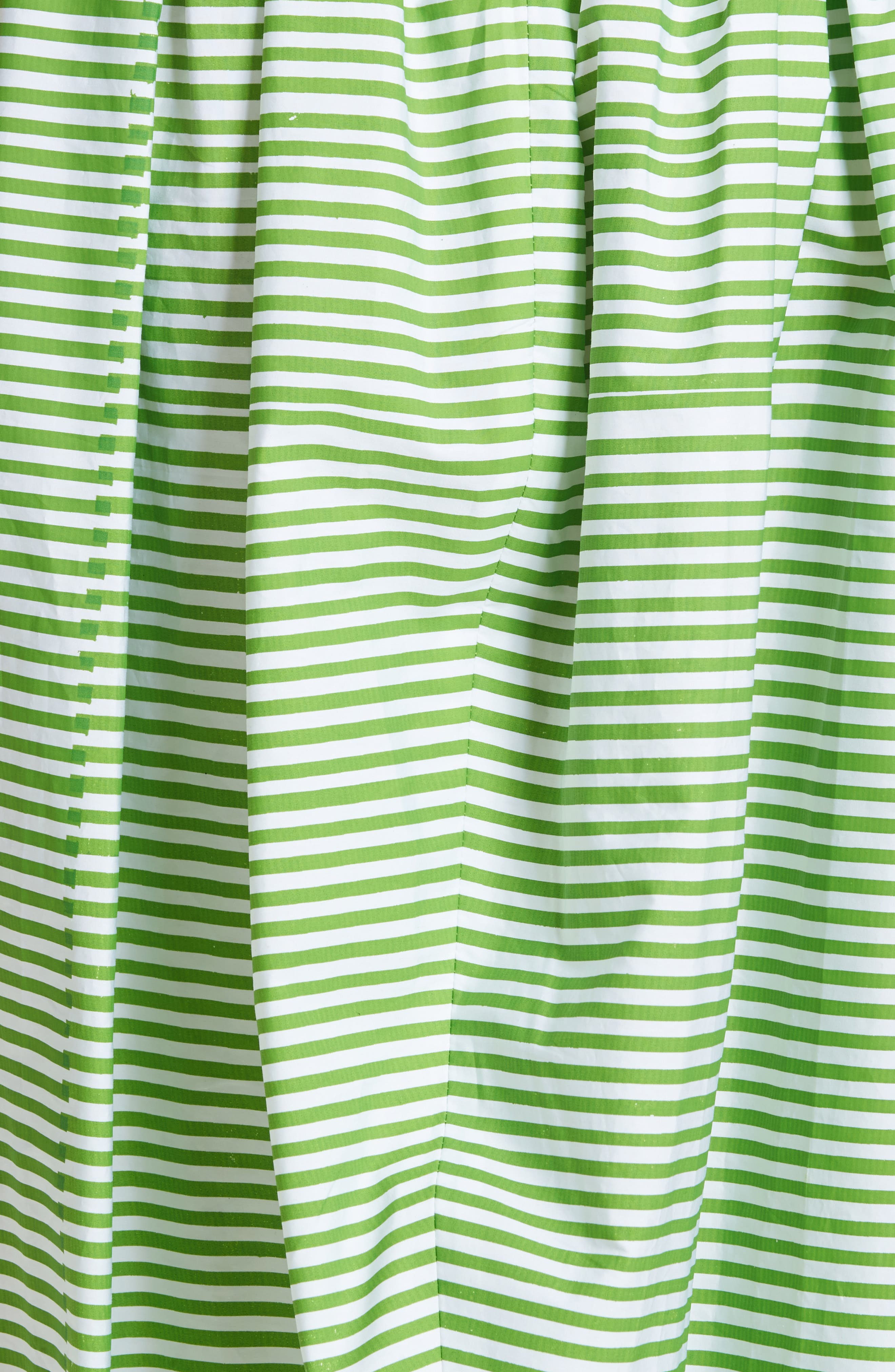 Stripe Ball Skirt,                             Alternate thumbnail 5, color,                             Green Striped