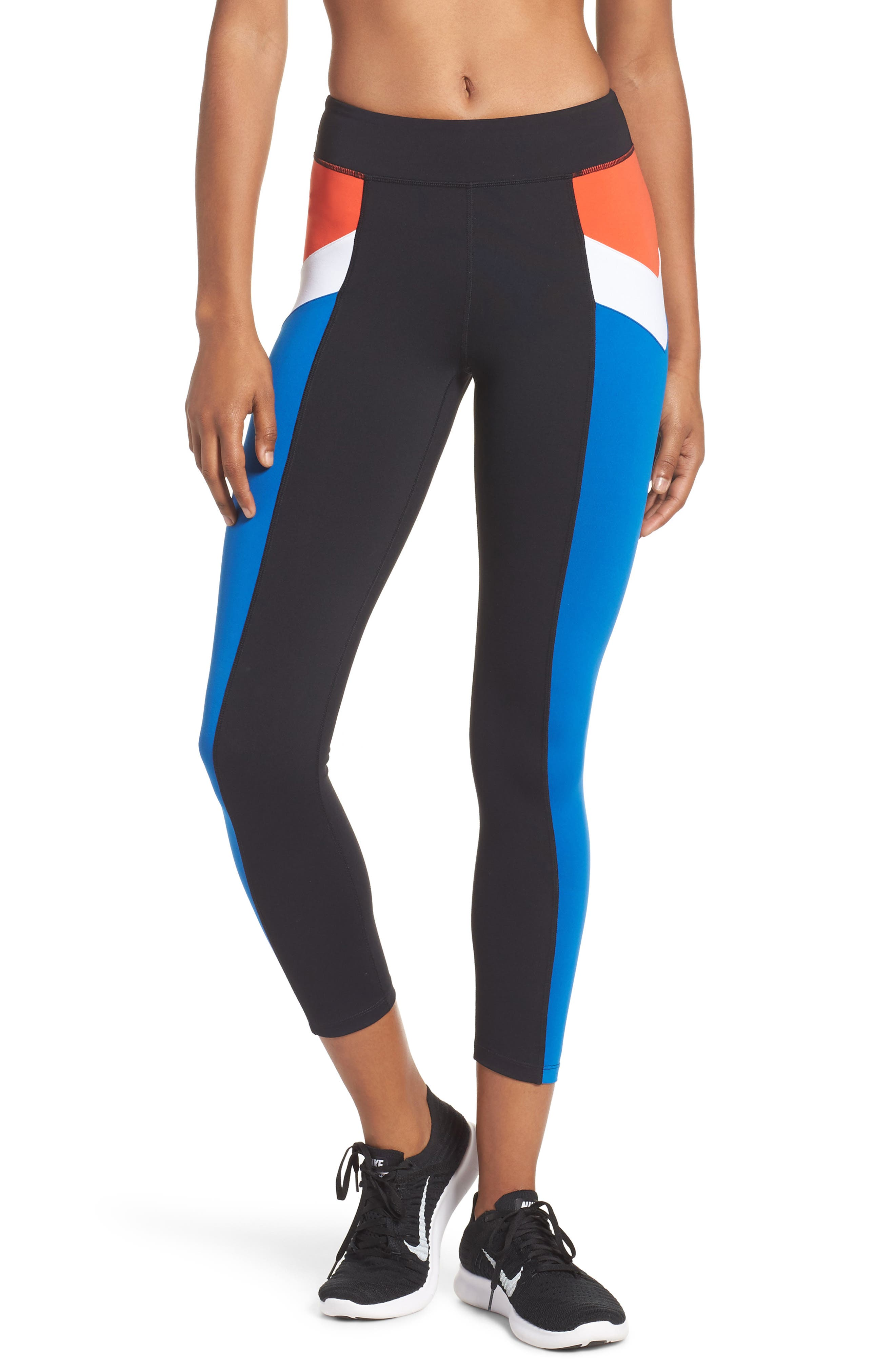 Main Image - P.E Nation Time Out Ankle Leggings