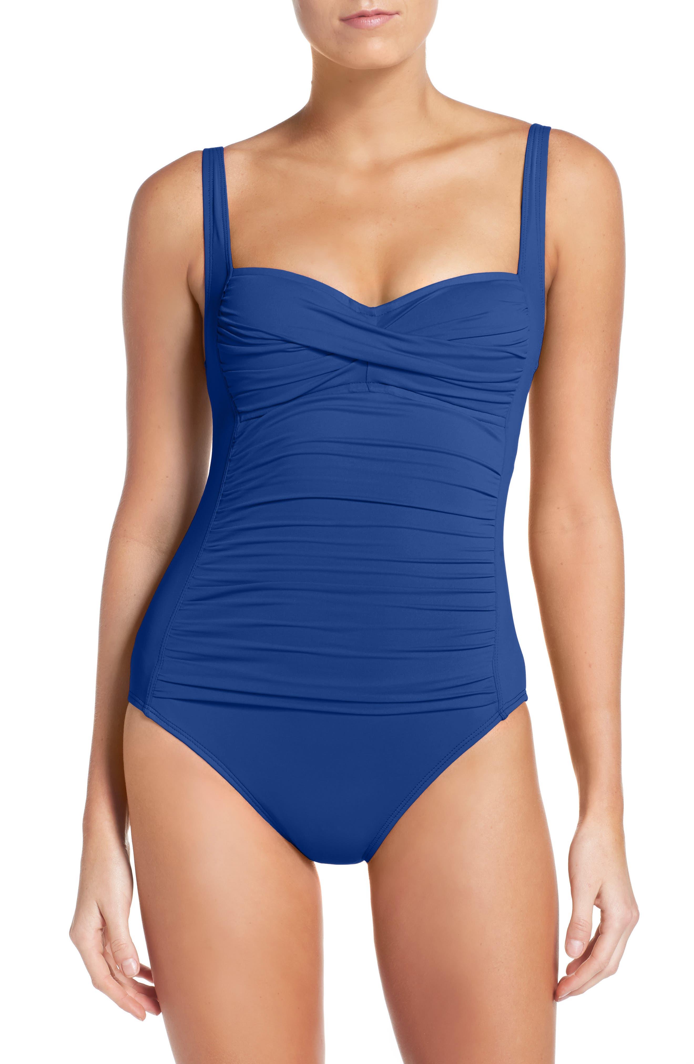 Alternate Image 1 Selected - La Blanca 'Sweetheart' One-Piece Swimsuit
