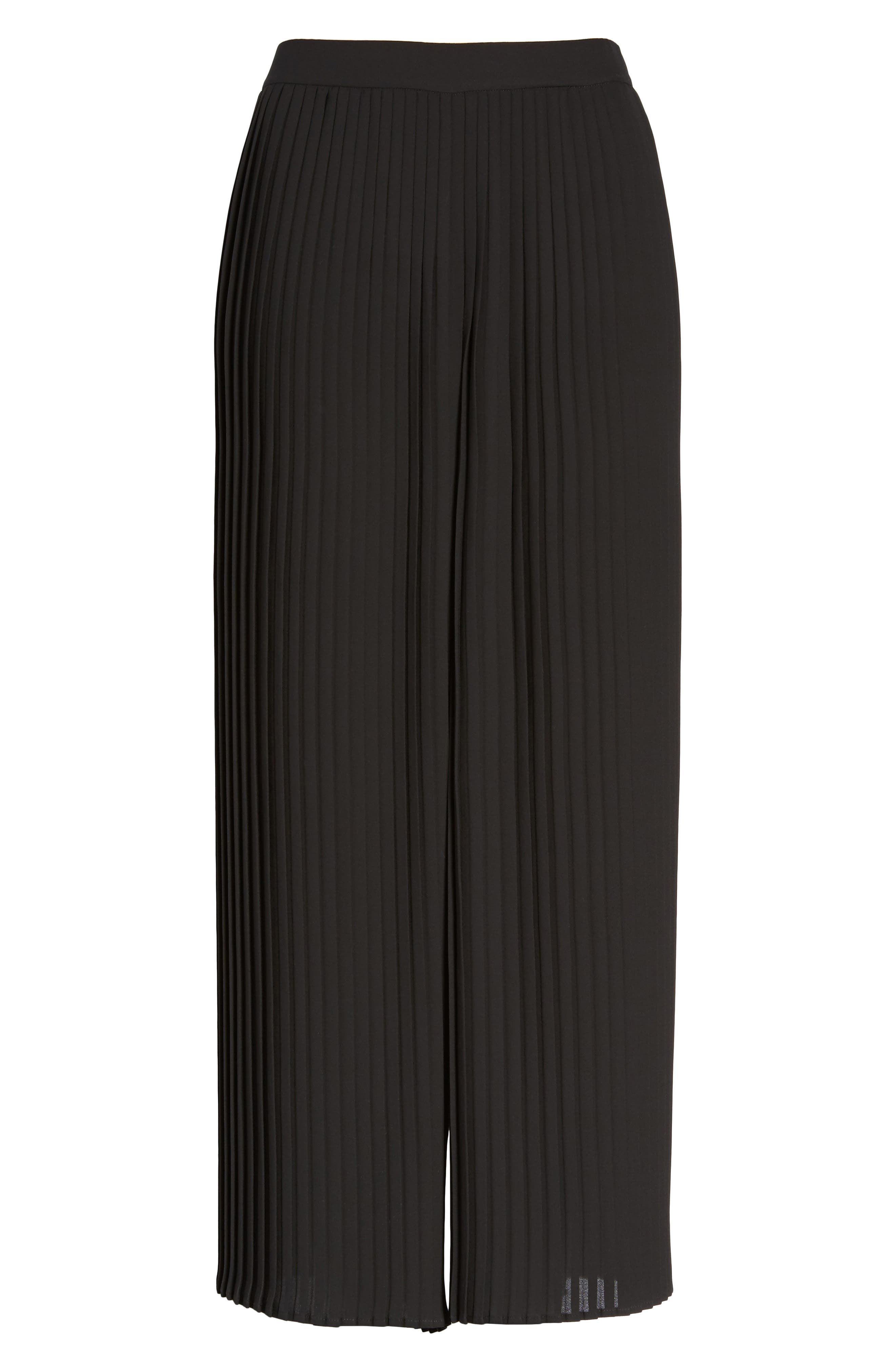 Alternate Image 6  - Eileen Fisher Wide Leg Ankle Pants (Regular & Petite)