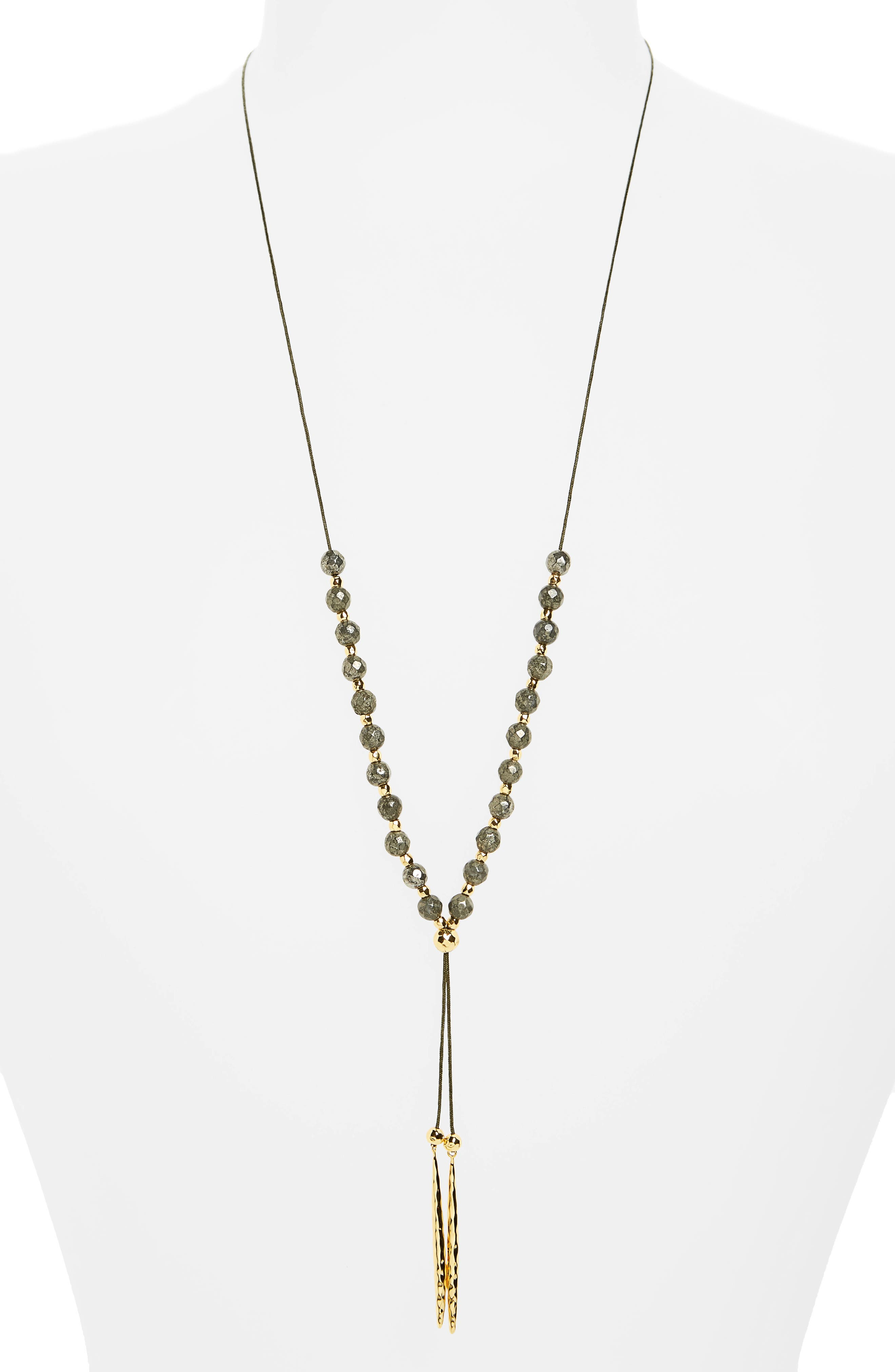 gorjana Power Gemstone Convertible Necklace
