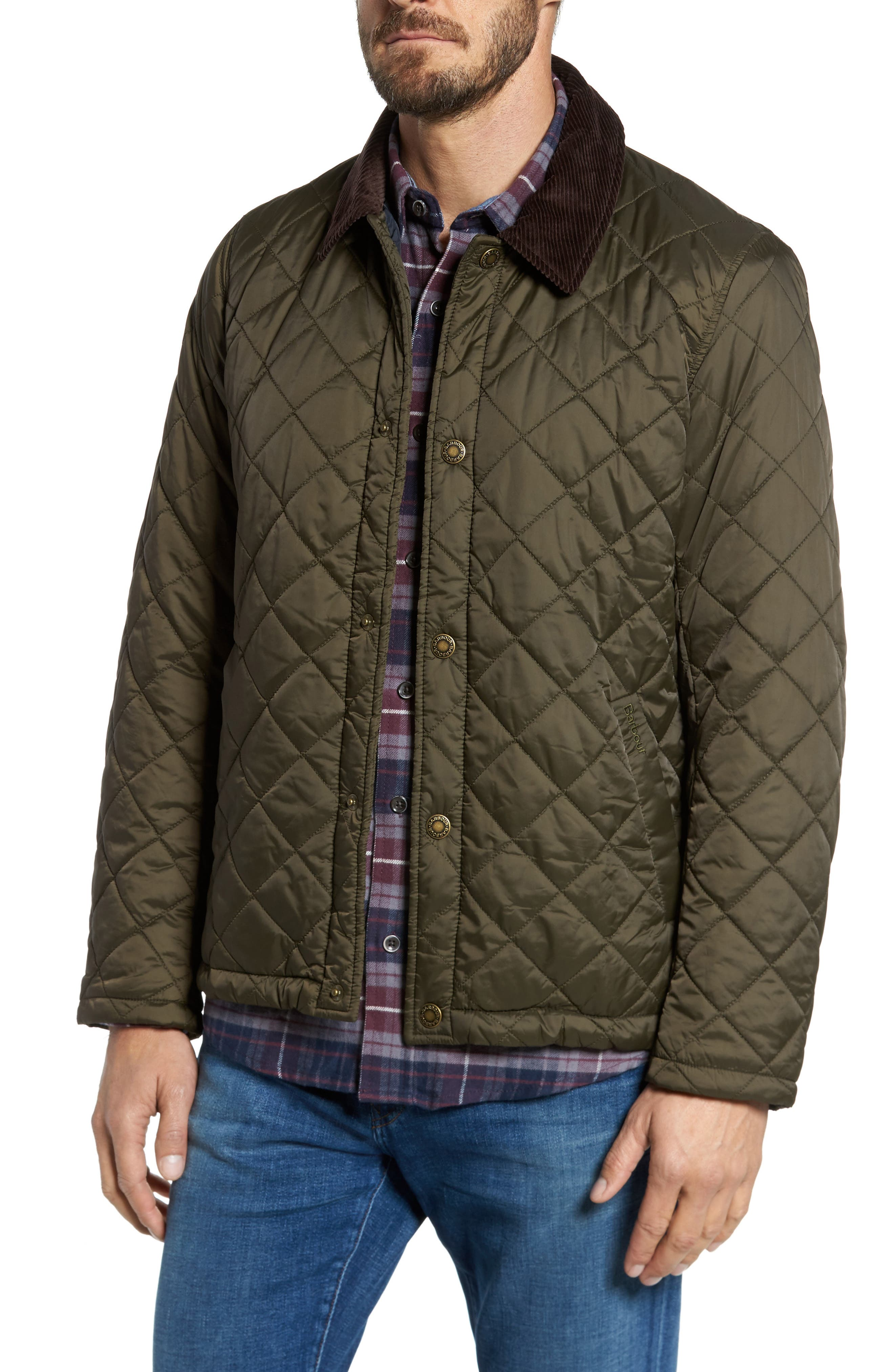Barbour Holme Quilted Water-Resistant Jacket