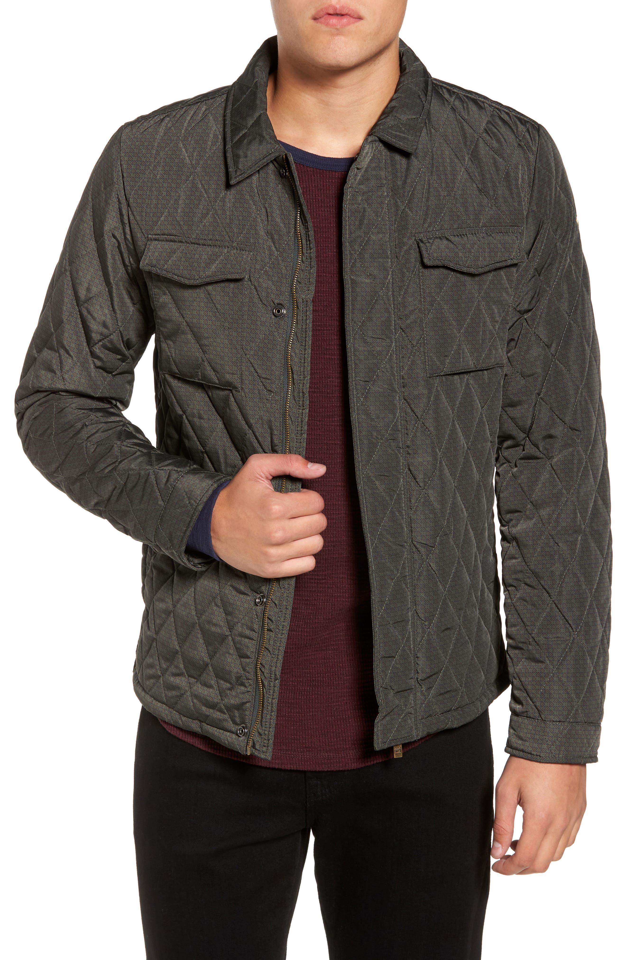 Main Image - Scotch & Soda Lightweight Quilted Shirt Jacket