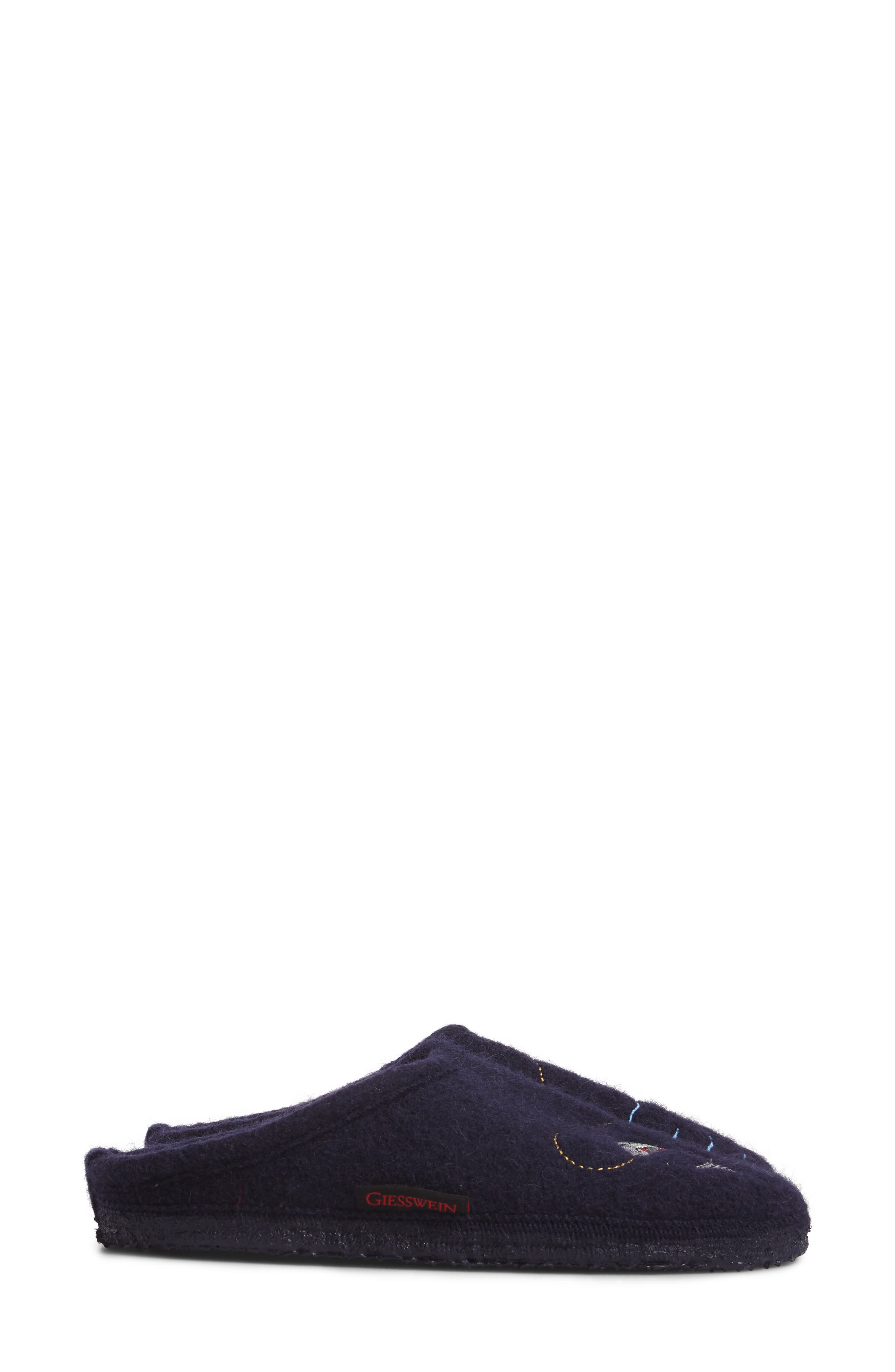 Riffle Wool Slipper,                             Alternate thumbnail 3, color,                             Ocean Wool