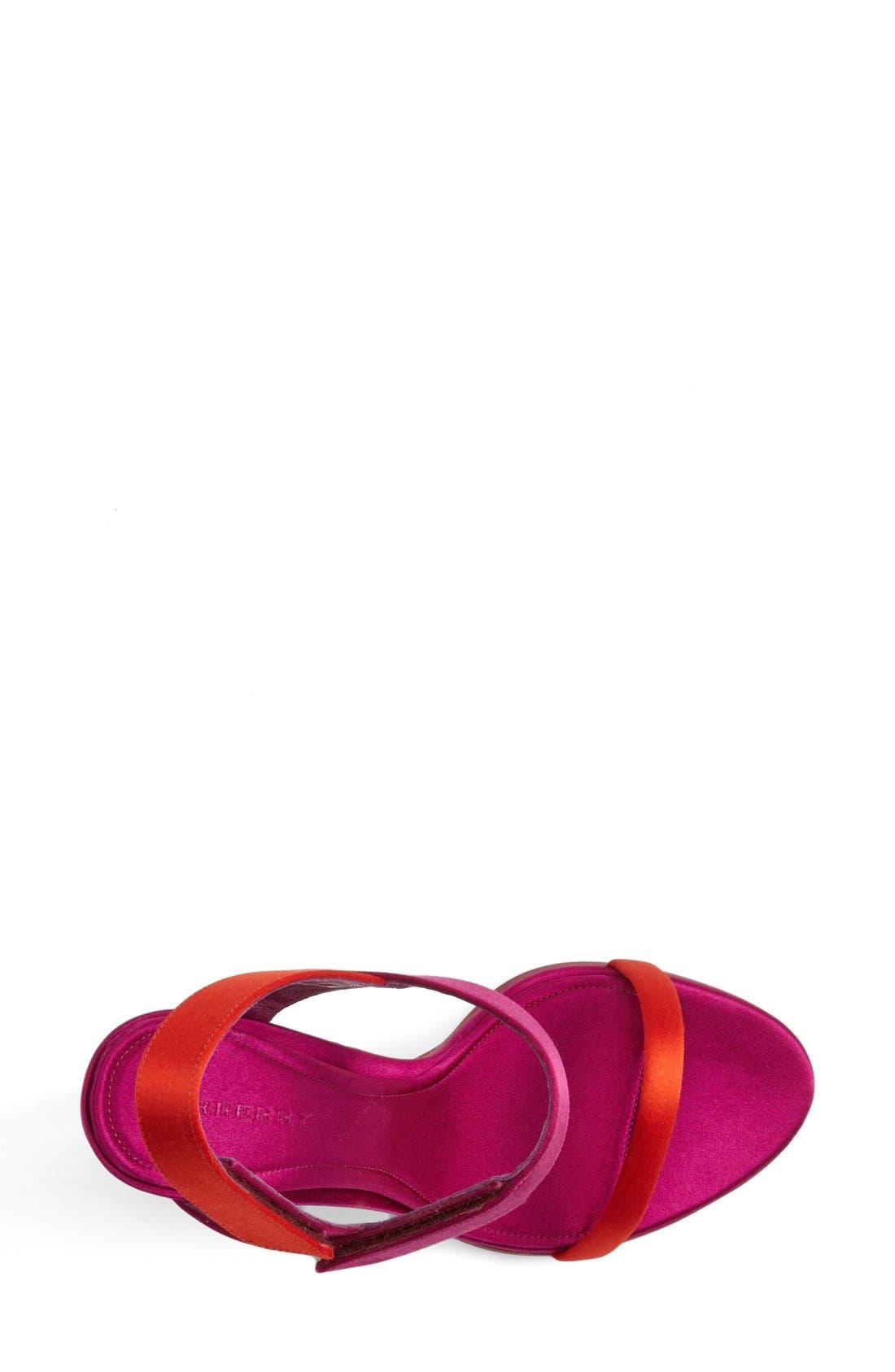 Alternate Image 3  - Burberry 'Calcoat' Sandal (Women)
