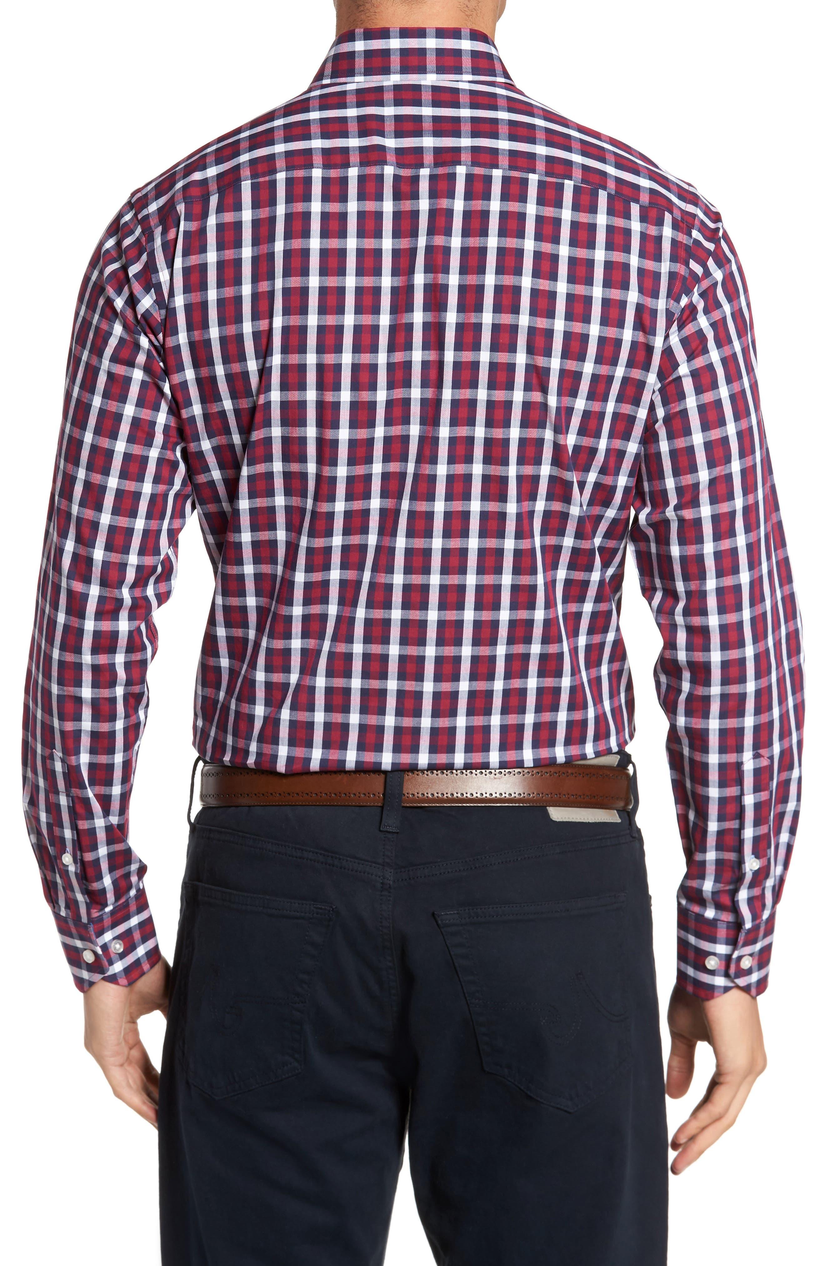 Alternate Image 2  - TailorByrd Covington Check Sport Shirt