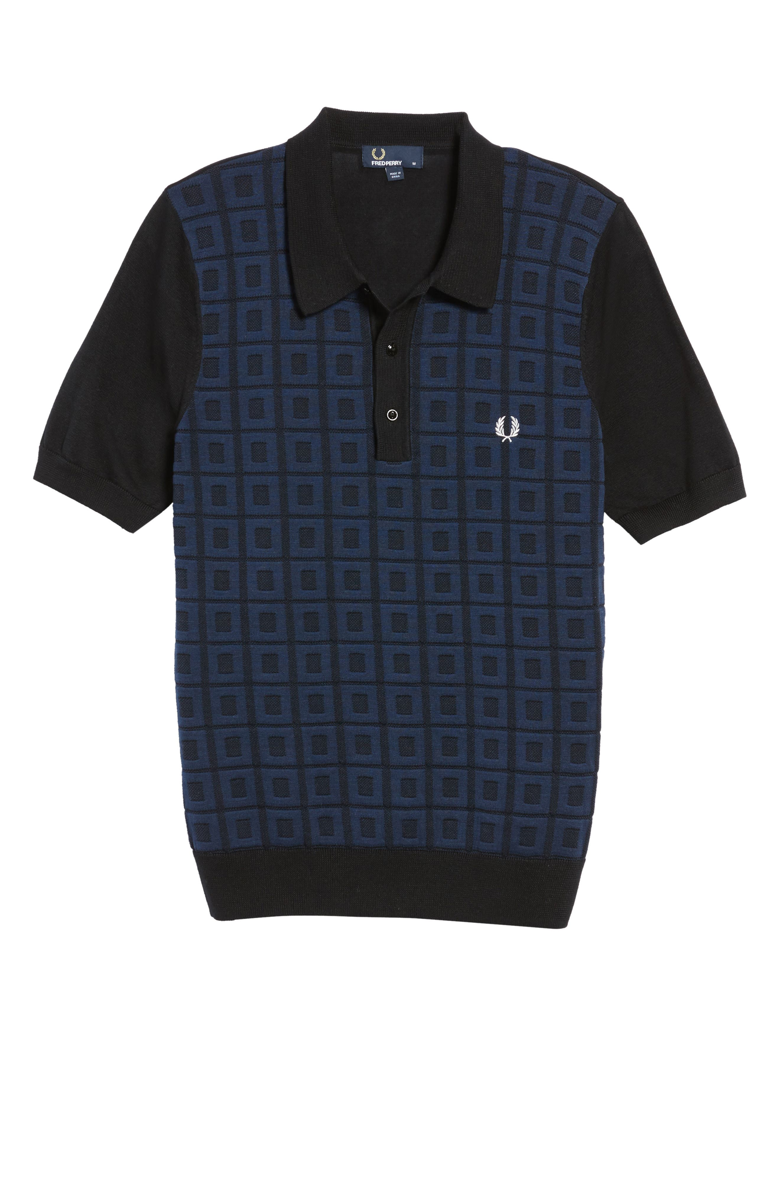 Alternate Image 6  - Fred Perry Jacquard Polo