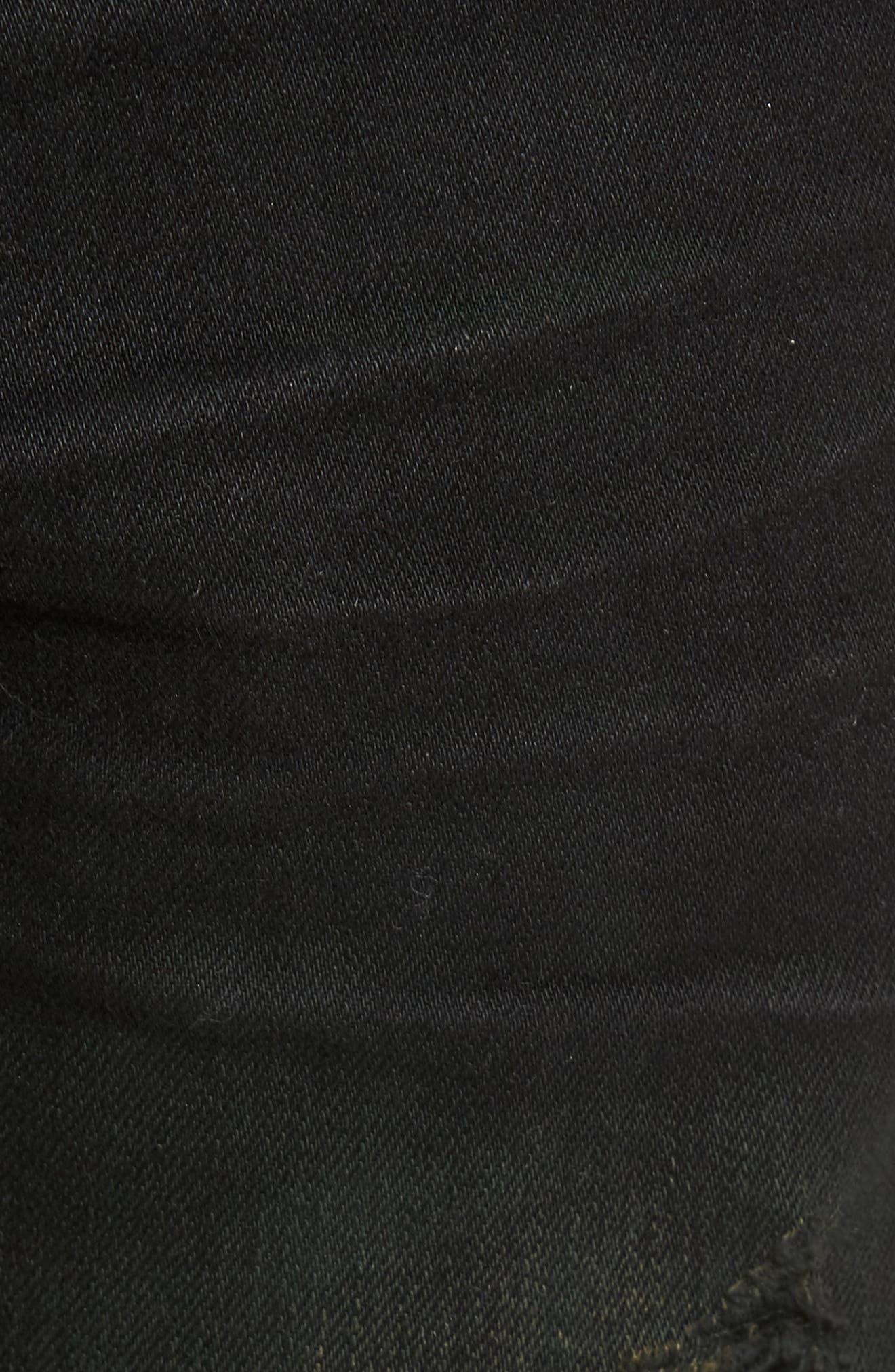 Alternate Image 5  - True Religion Brand Jeans Rocco Skinny Fit Jeans (Green Blaze)
