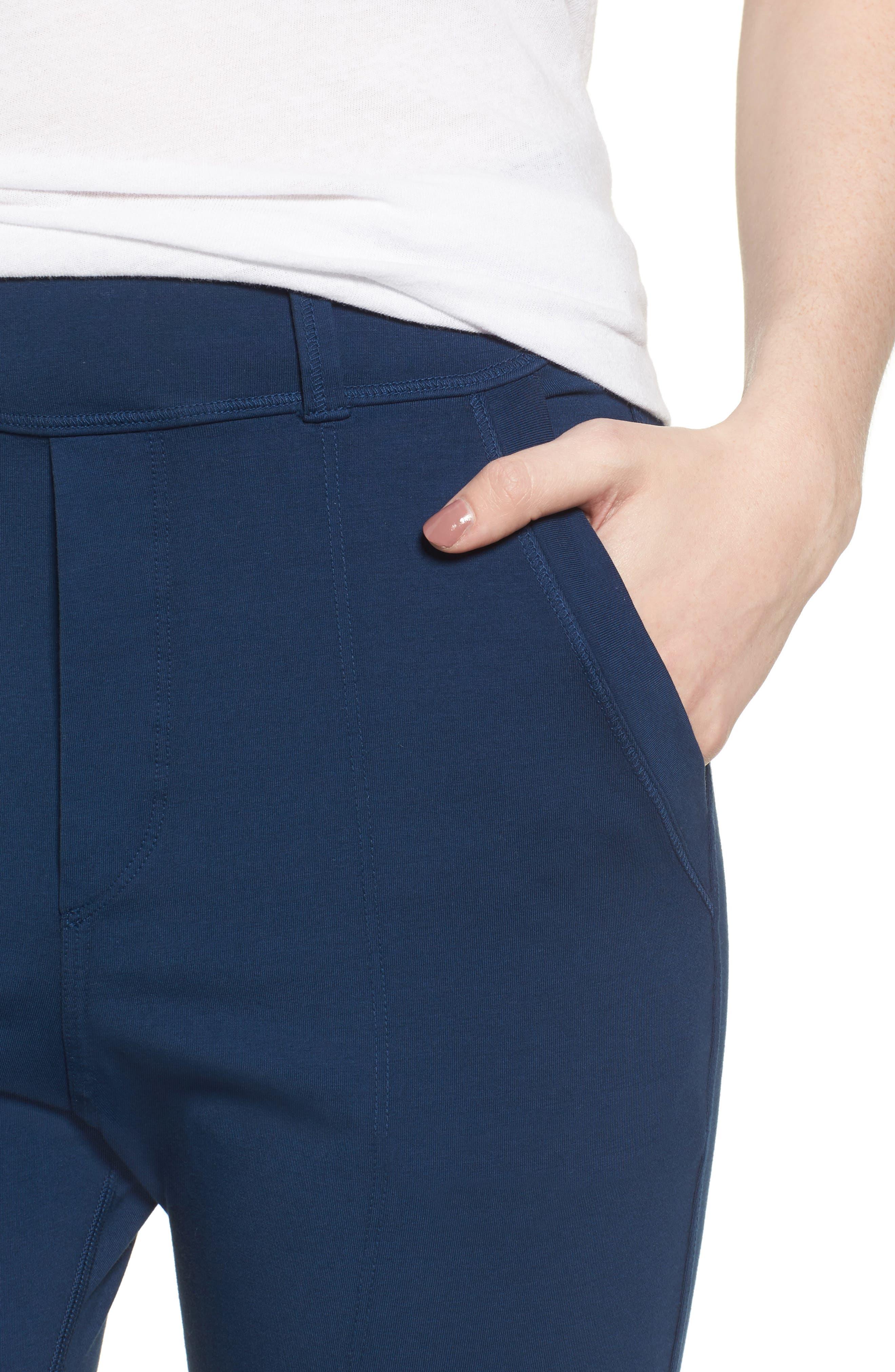 The Trouser Knit Pants,                             Alternate thumbnail 4, color,                             Blazer