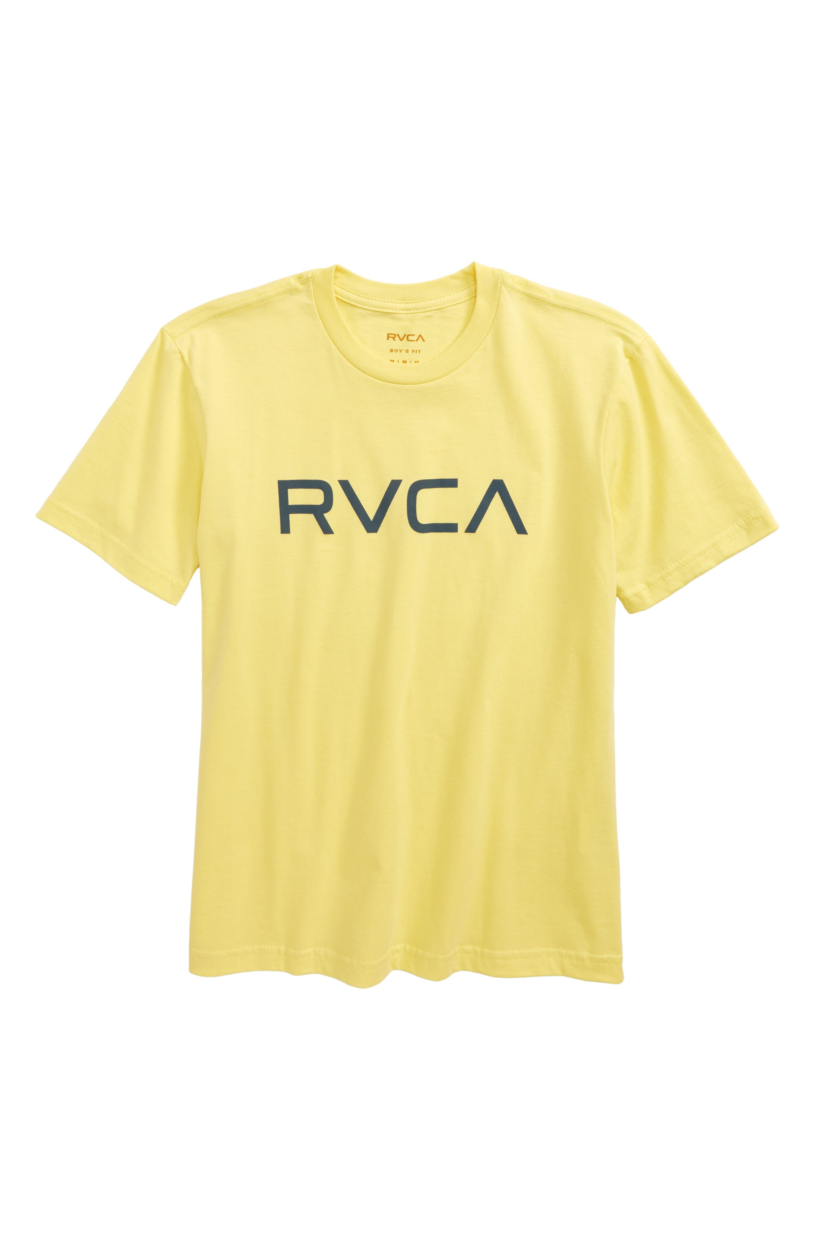 Alternate Image 1 Selected - RVCA Logo Graphic T-Shirt (Big Boys)