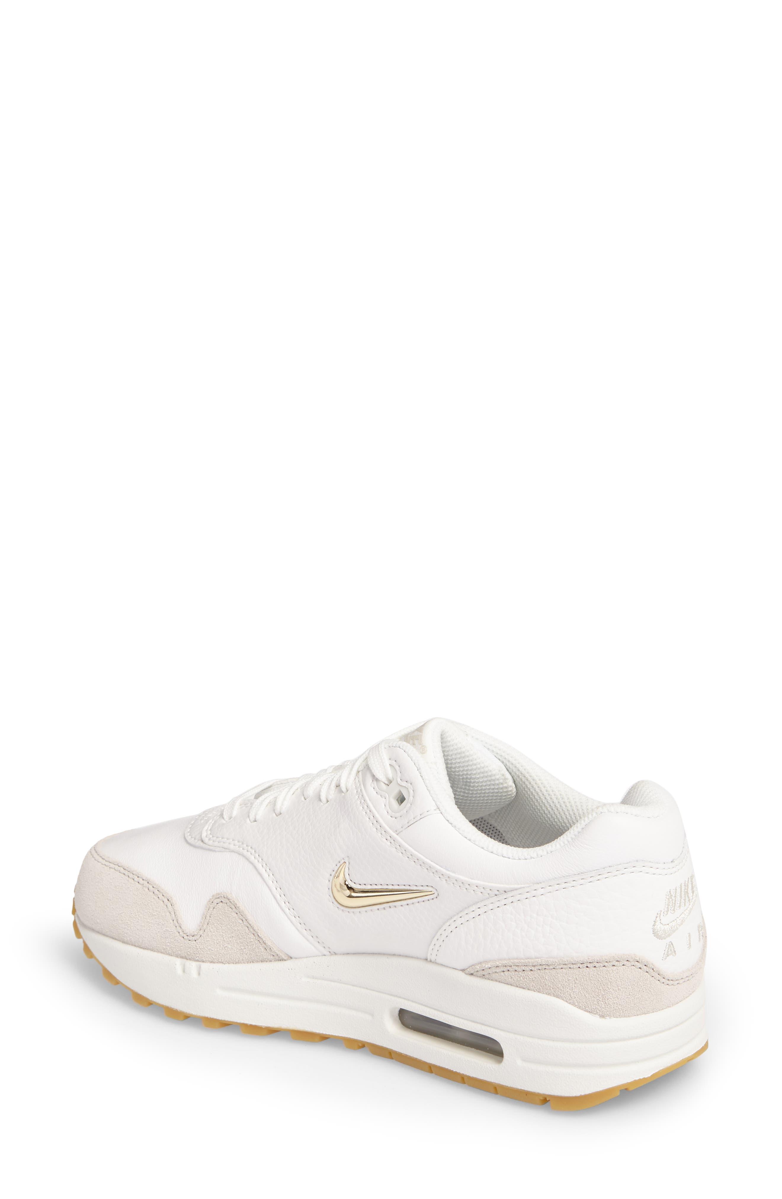 Alternate Image 2  - Nike Air Max 1 Premium SC Sneaker (Women)