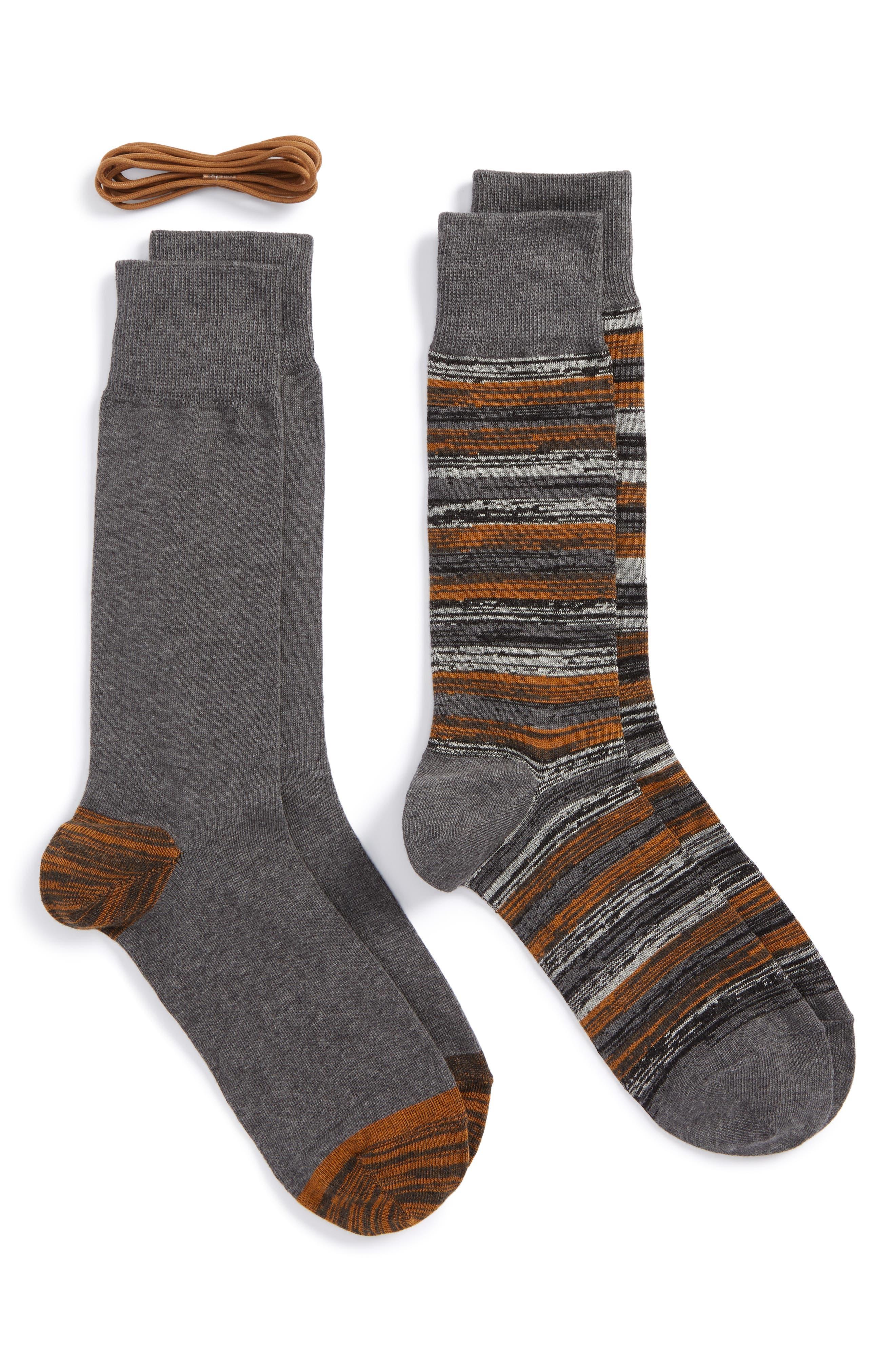 Cole Haan 2-Pack Socks & Laces Set ($31.95 Value)