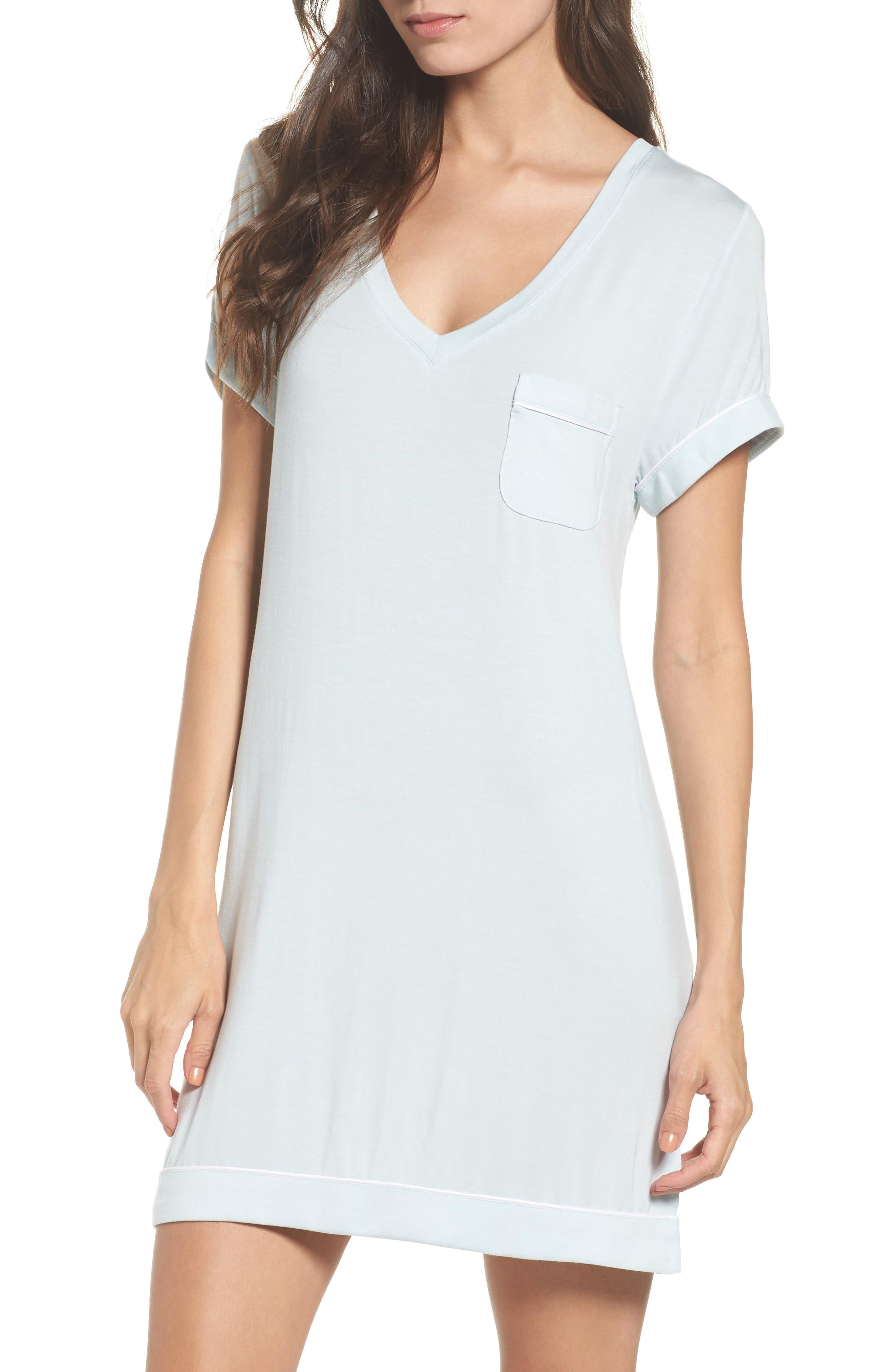 Alternate Image 1 Selected - Nordstrom Lingerie Moonlight Sleep Shirt