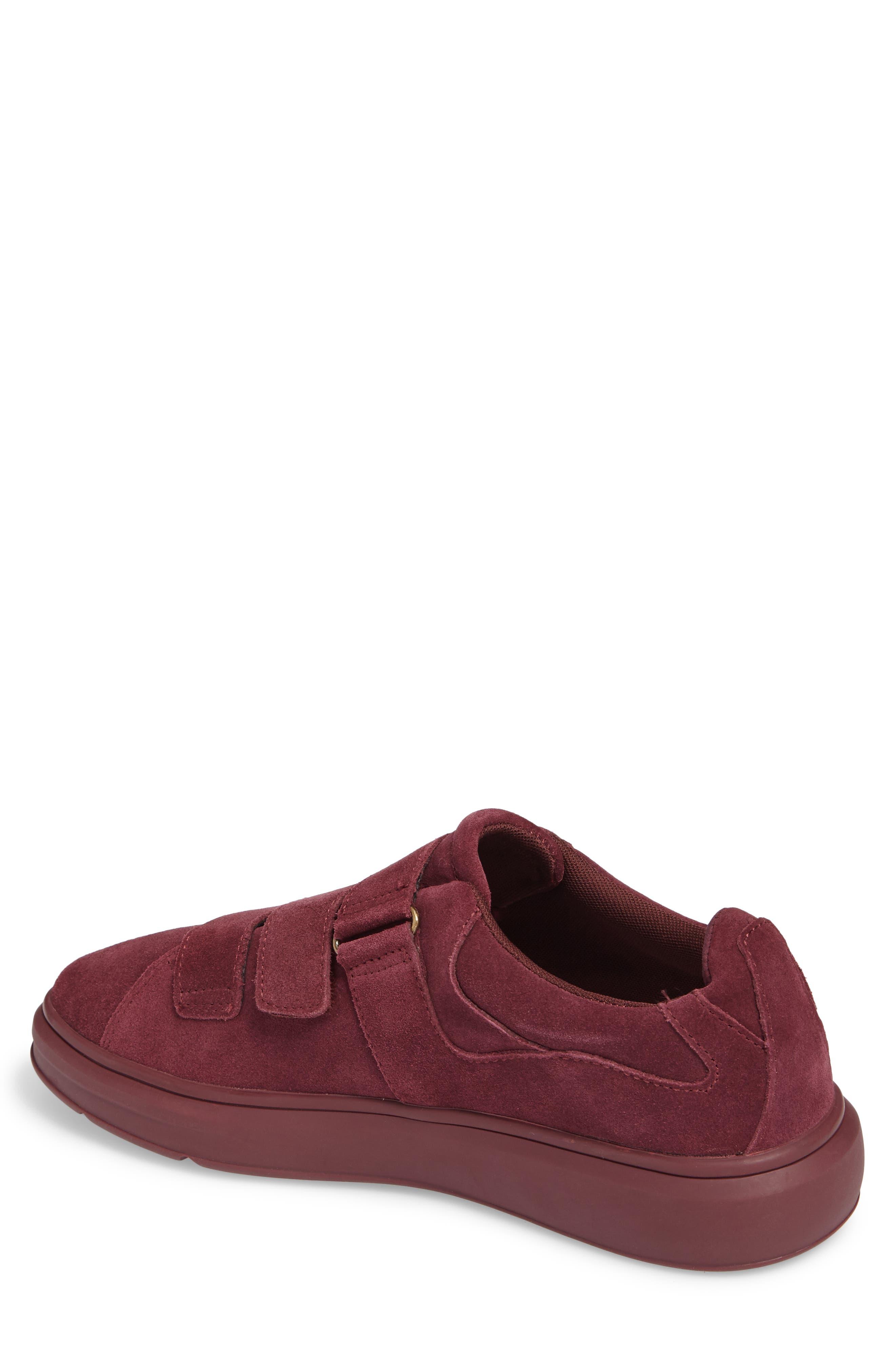 Meleti Sneaker,                             Alternate thumbnail 2, color,                             Dark Burgundy Leather