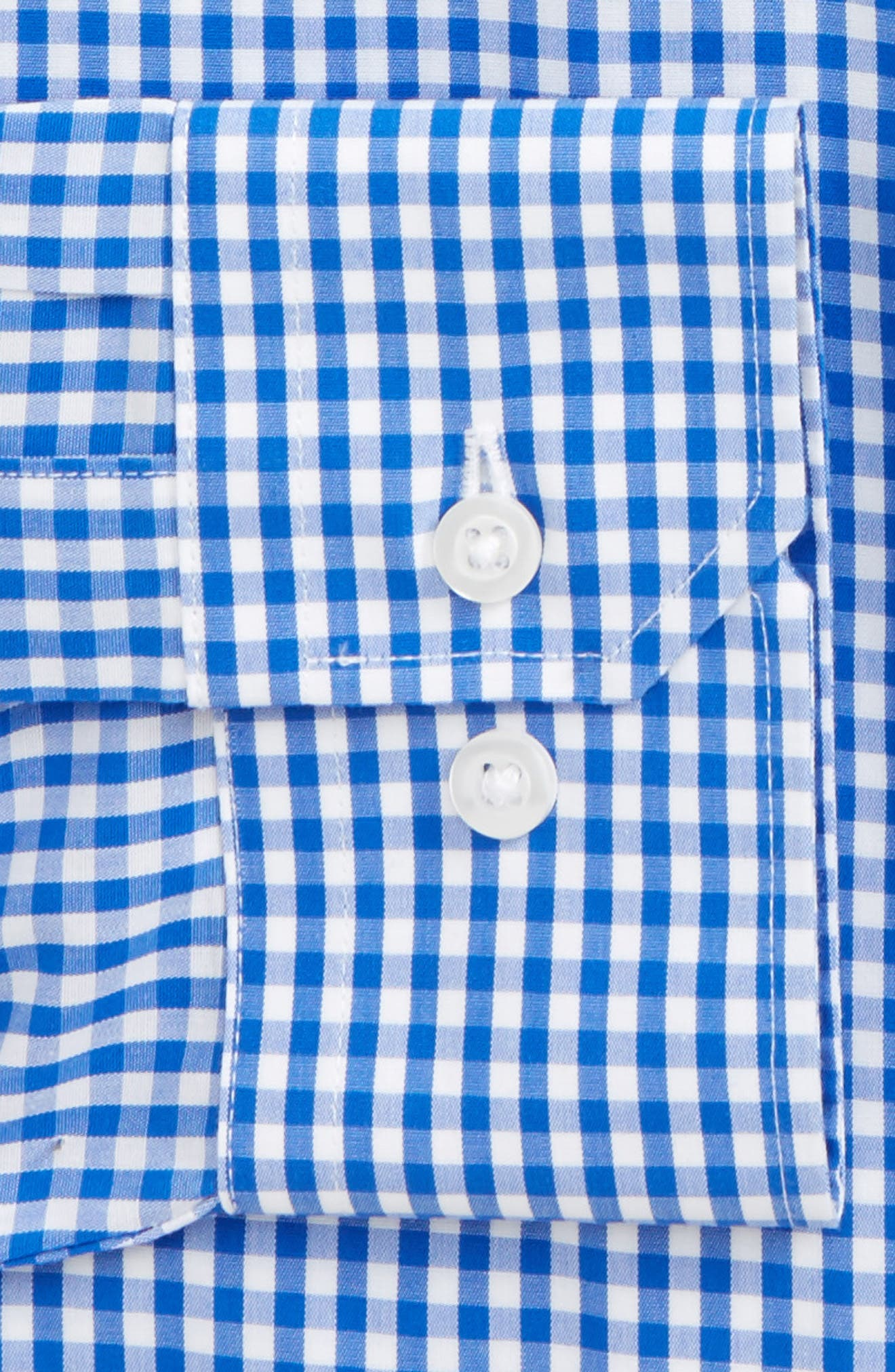 Alternate Image 2  - The Tie Bar Standard Fit Check Dress Shirt (3 for $140)