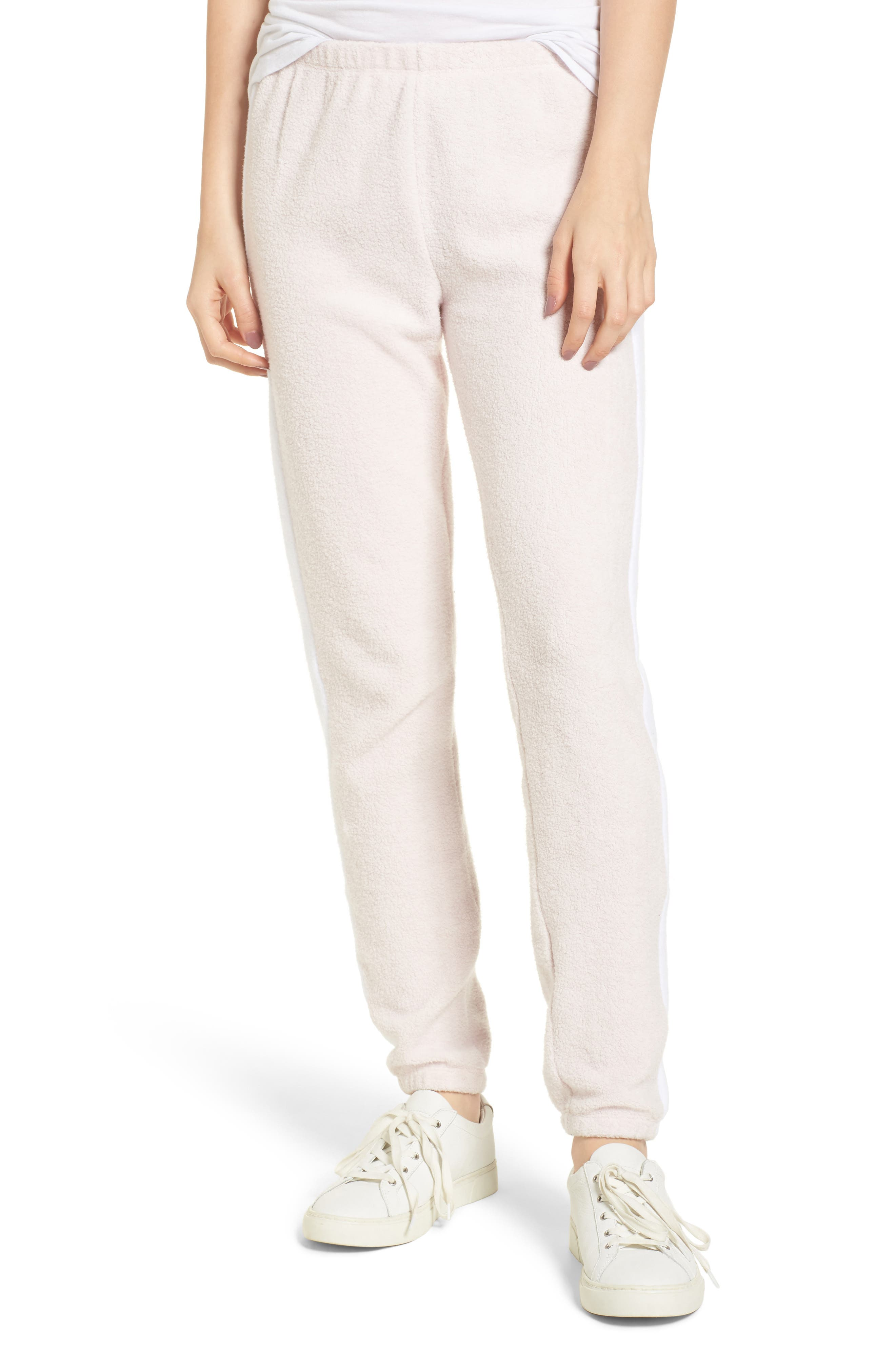 Track Star Knox Sweatpants,                             Main thumbnail 1, color,                             Iced Lavender