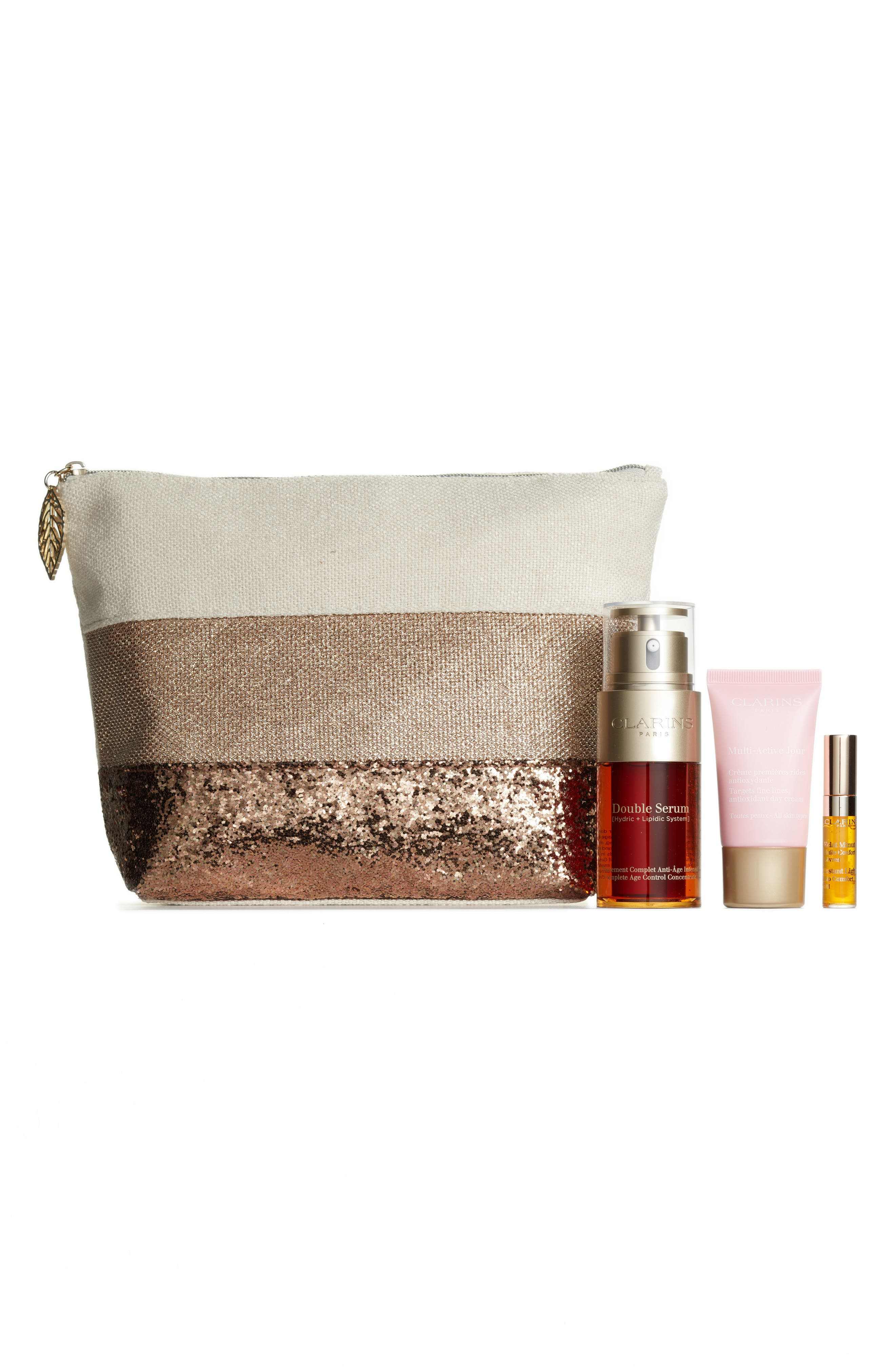 Alternate Image 1 Selected - Clarins Multi-Active Double Serum Set (Over $115 Value)