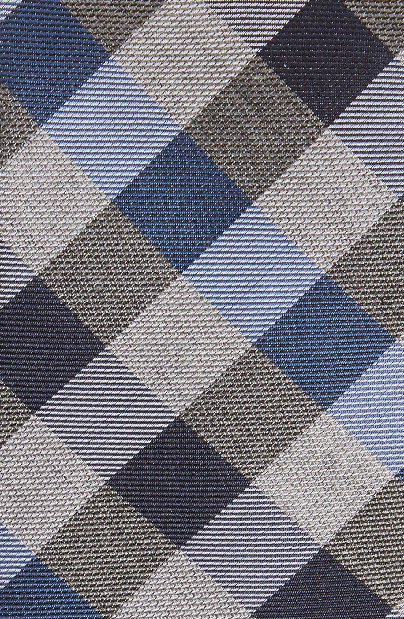 Alternate Image 2  - Calibrate Schoolboy Gingham Check Silk Tie