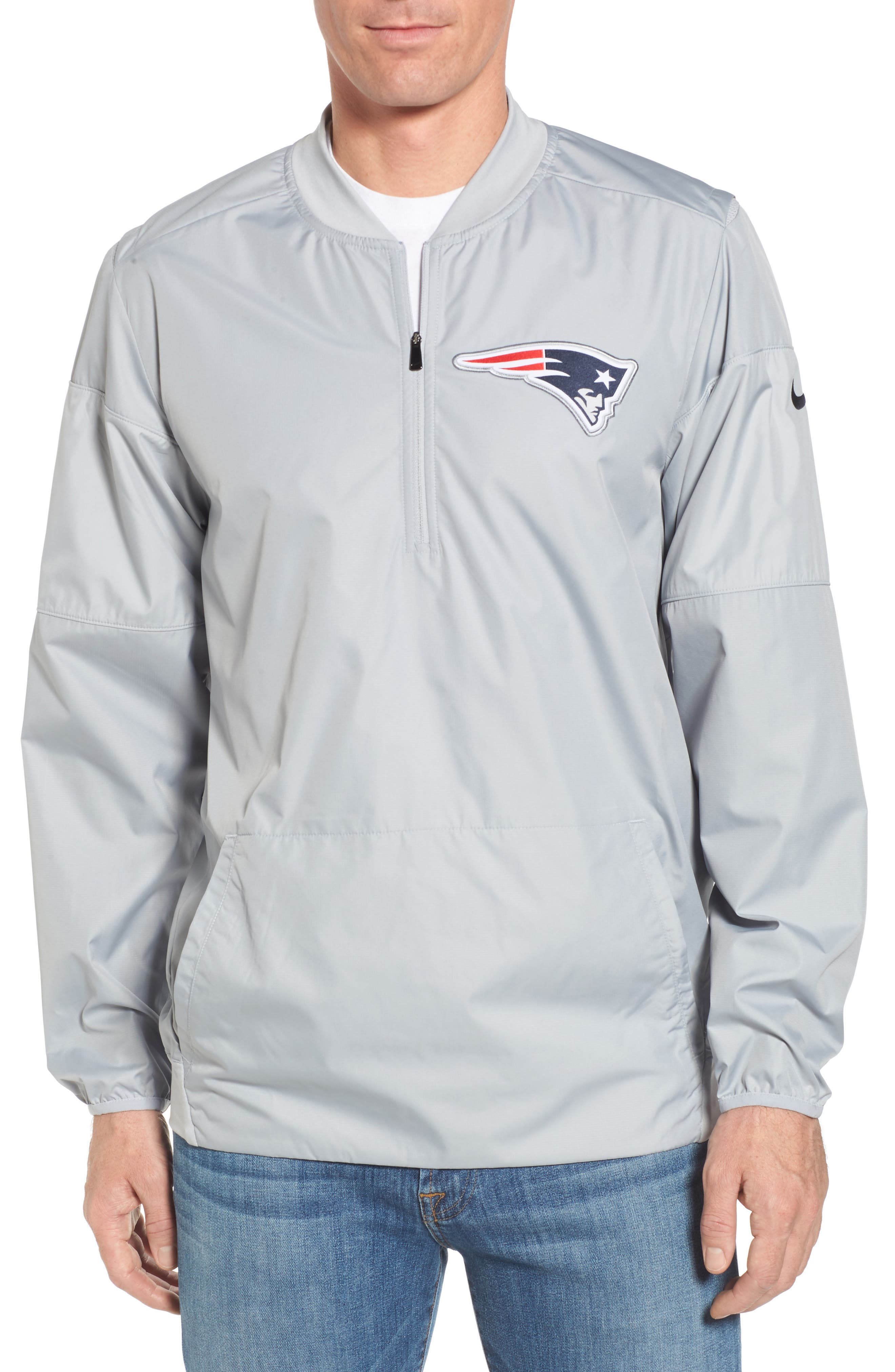Nike Lockdown New England Patriots Pullover Jacket