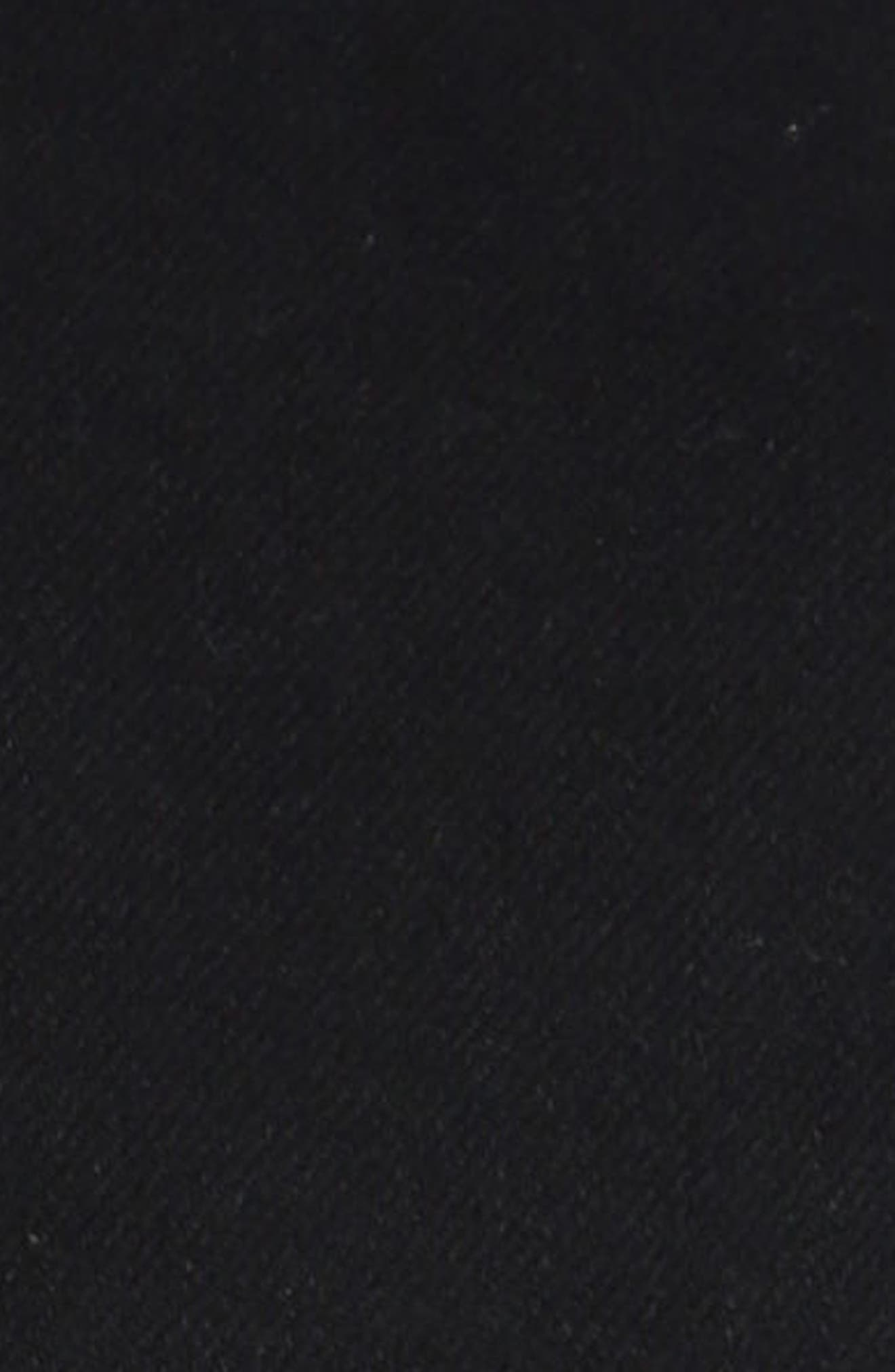 Frank Denim Jacket,                             Alternate thumbnail 3, color,                             Black Comfort