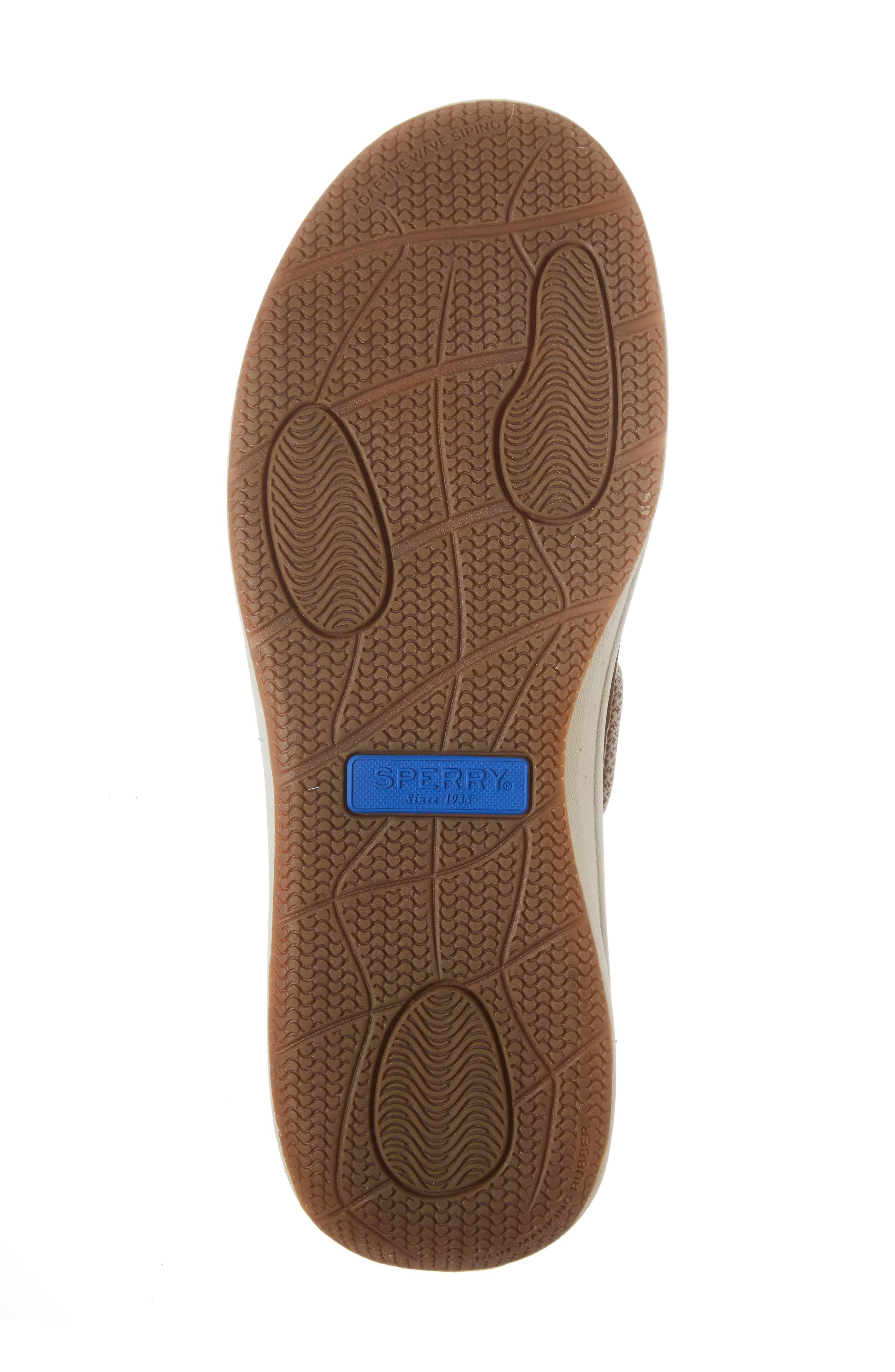 Gamefish Boat Shoe,                             Alternate thumbnail 6, color,                             Linen Leather