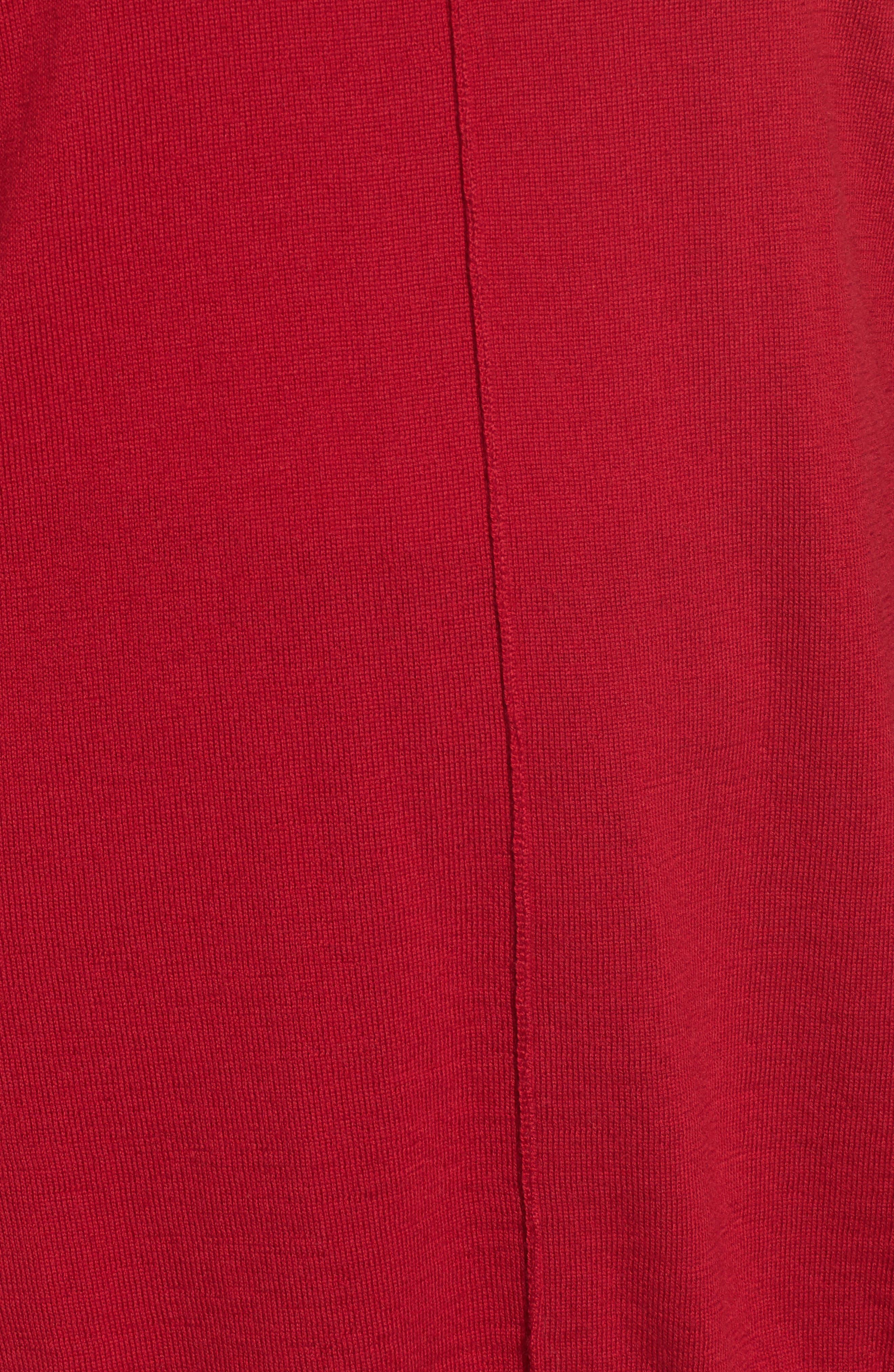 Alternate Image 5  - Eileen Fisher Merino Wool Boxy Turtleneck Sweater (Regular & Petite)