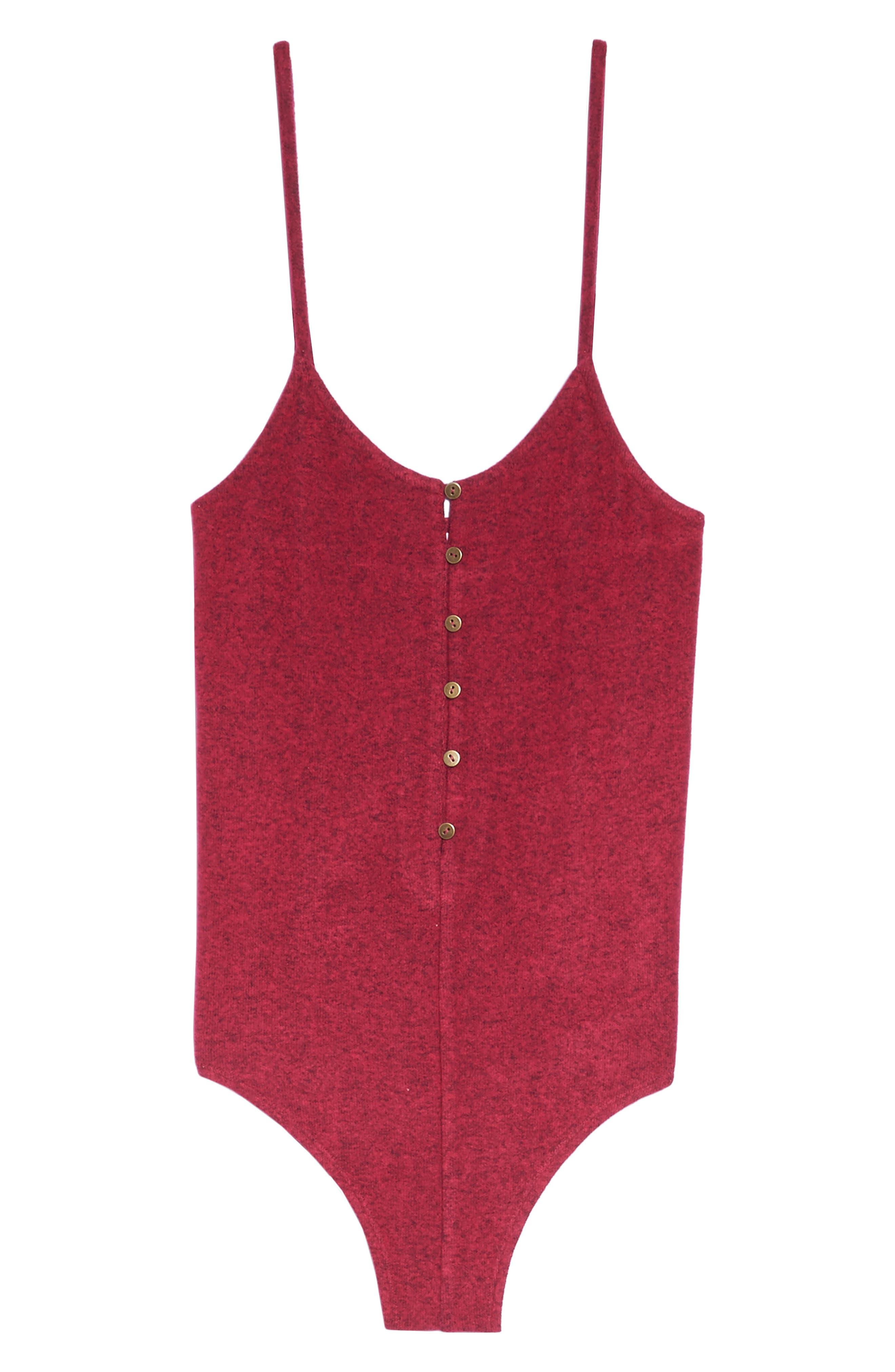 Alternate Image 4  - Make + Model Forever Young Hacci Bodysuit