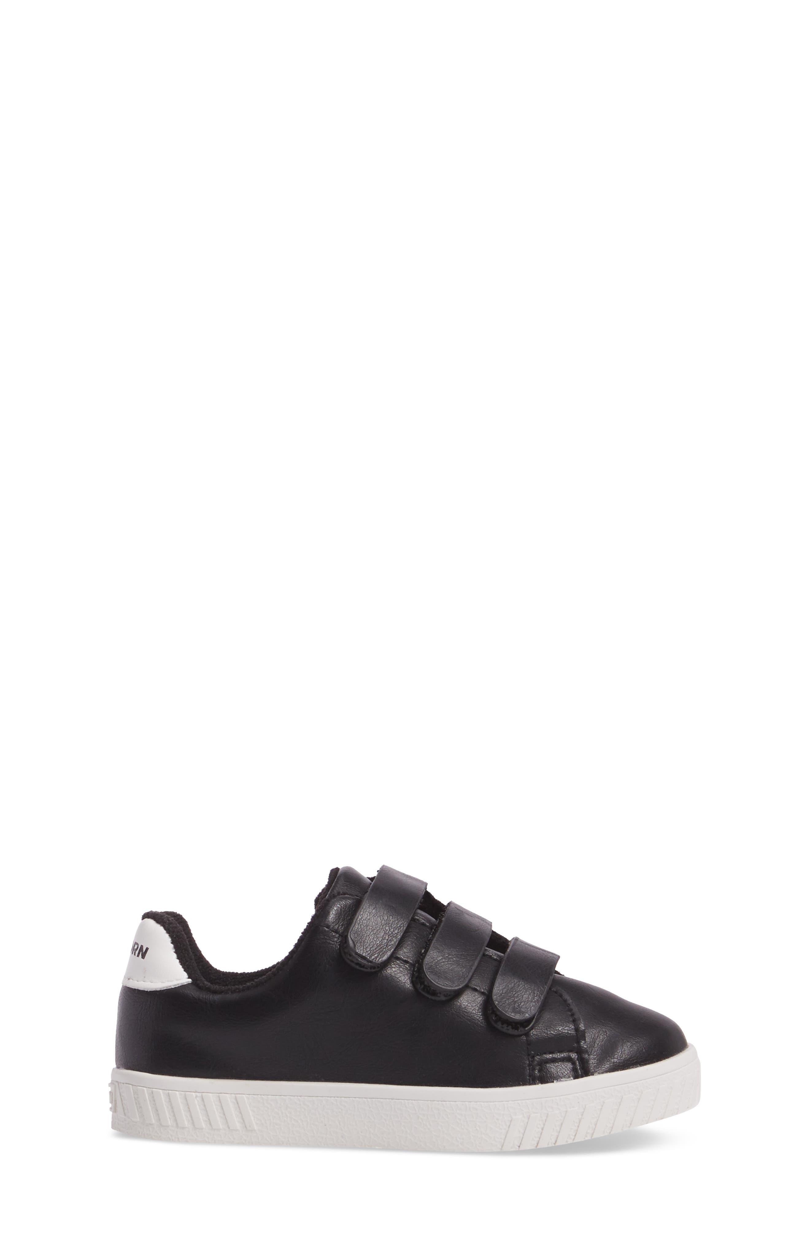Camden Carry Sneaker,                             Alternate thumbnail 3, color,                             Black Vintage White