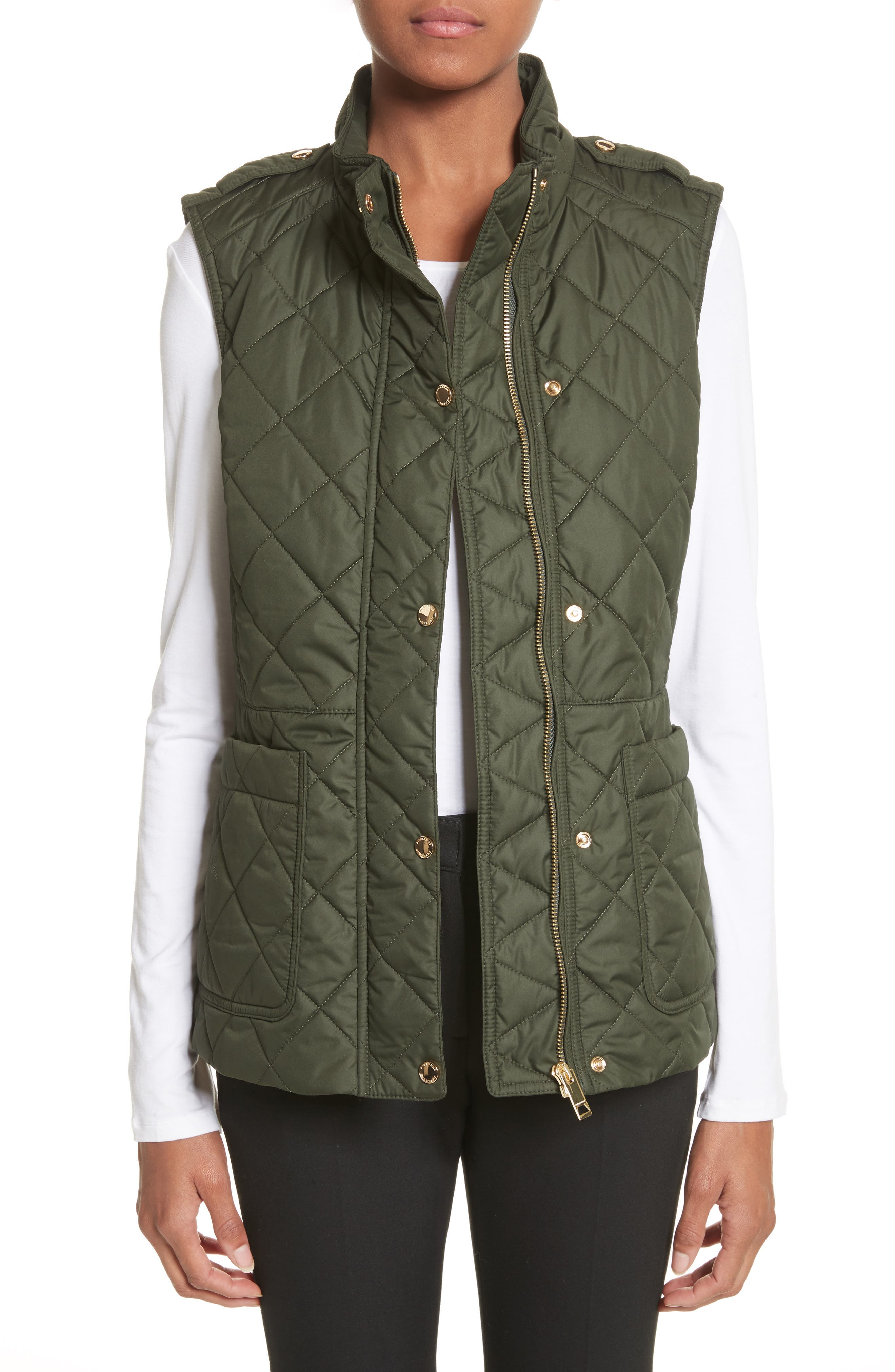Main Image - Burberry Westleton Quilted Vest